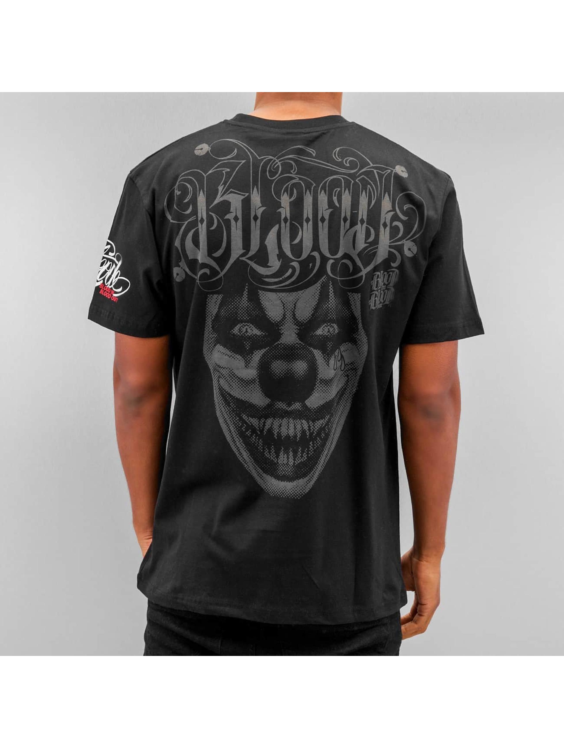 Blood In Blood Out t-shirt Harlekin zwart