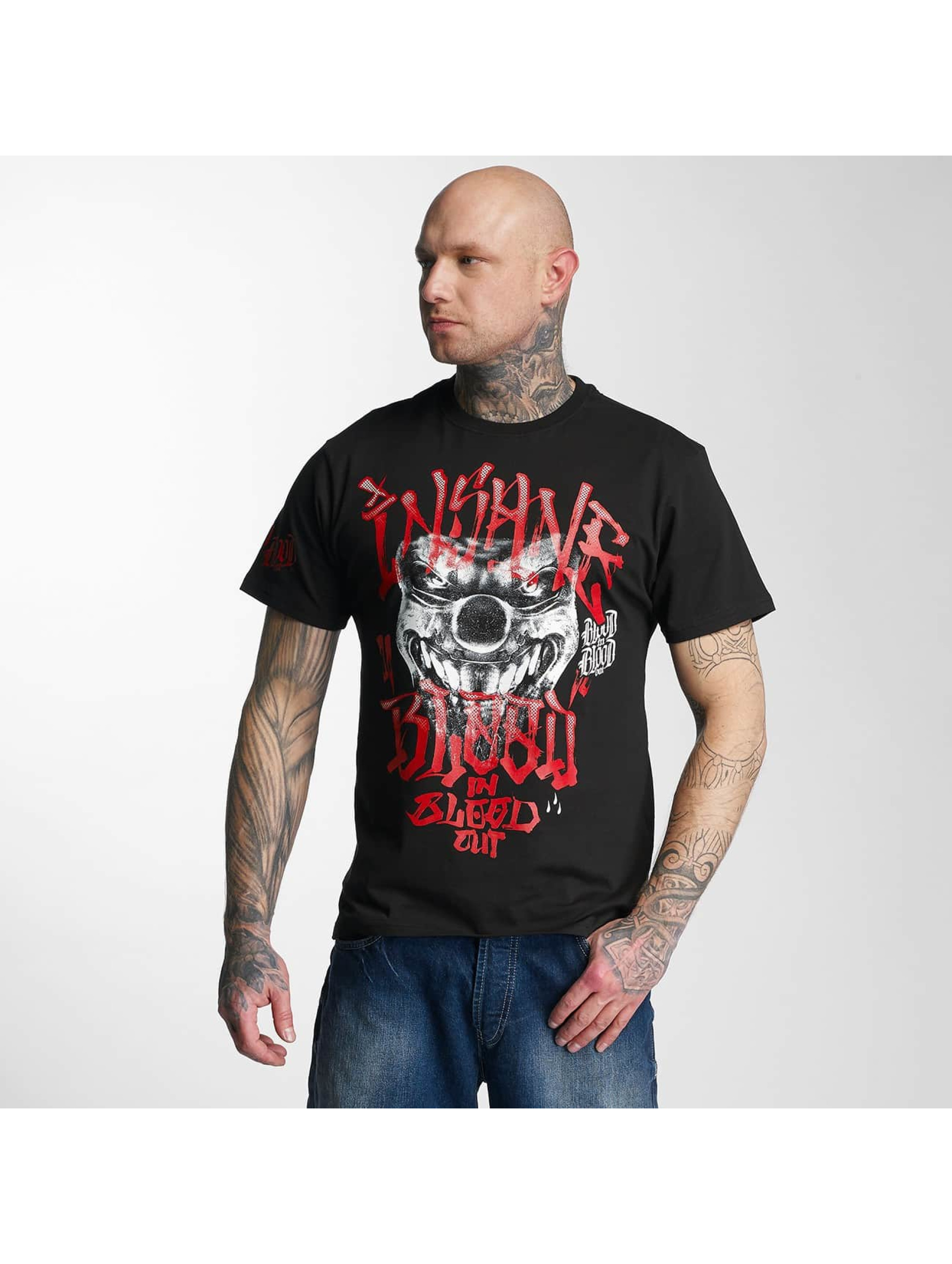 Blood In Blood Out t-shirt Red Harlekin zwart
