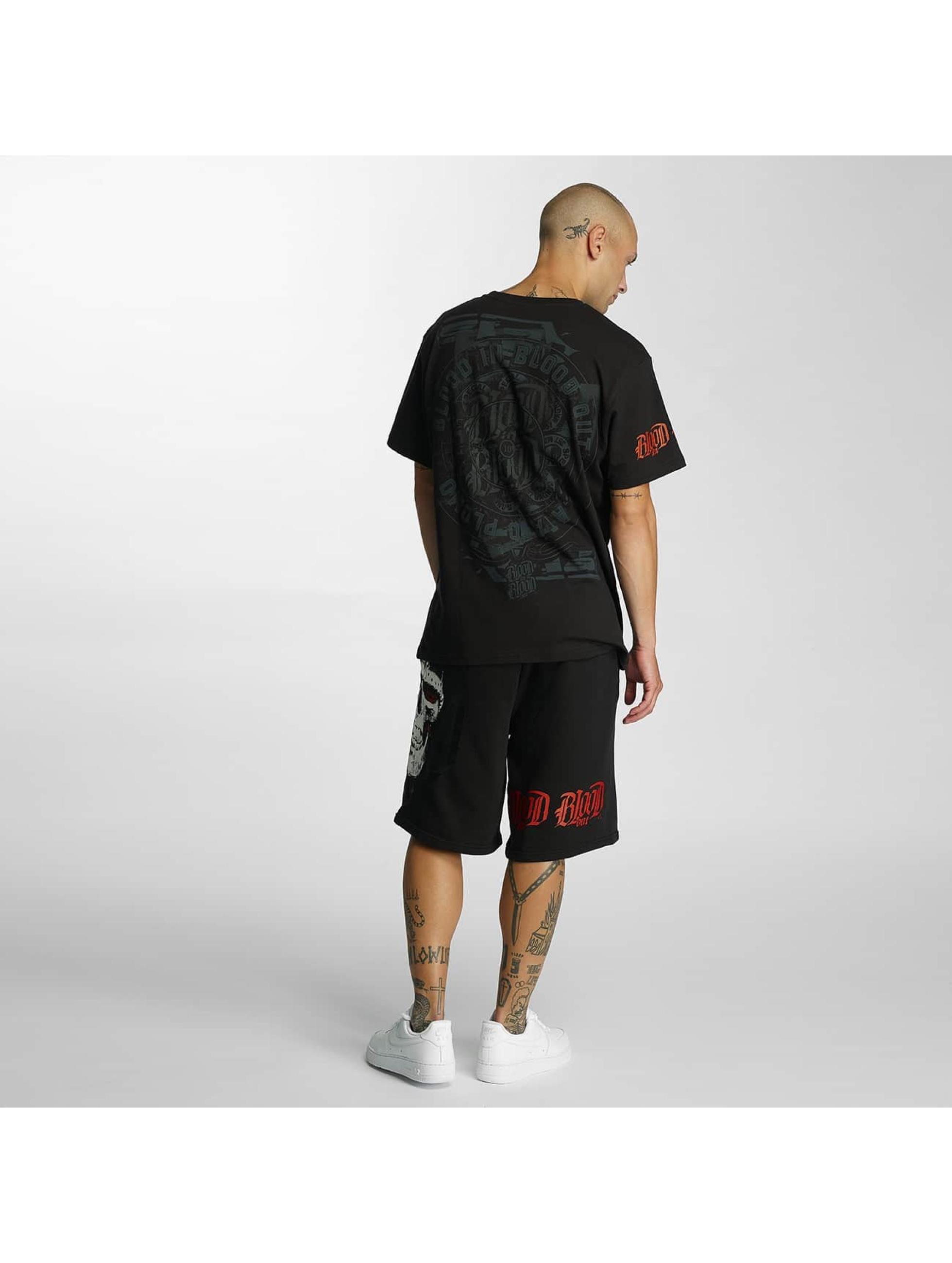 Blood In Blood Out t-shirt Plata O Plomo zwart