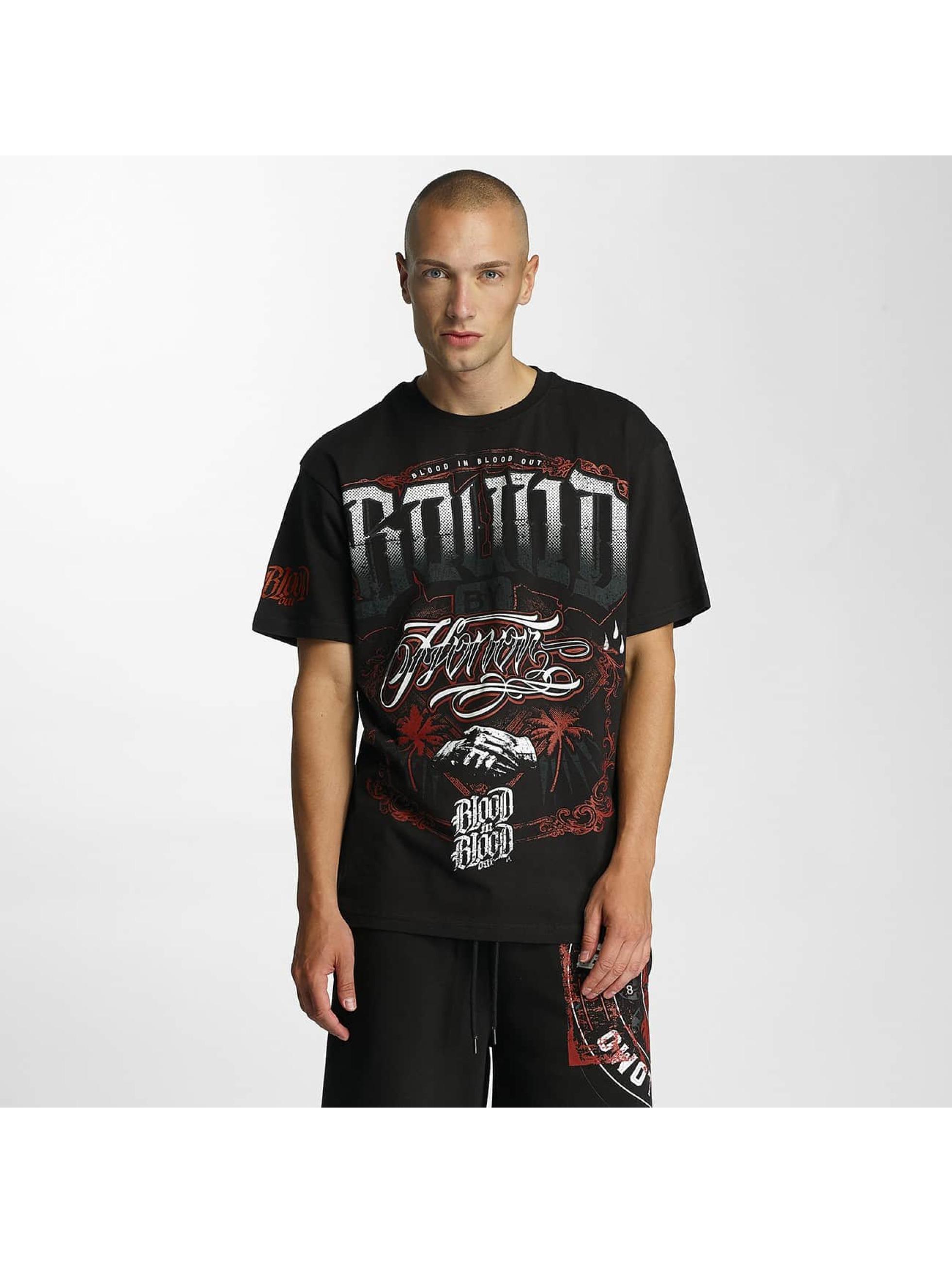 Blood In Blood Out t-shirt Bound zwart