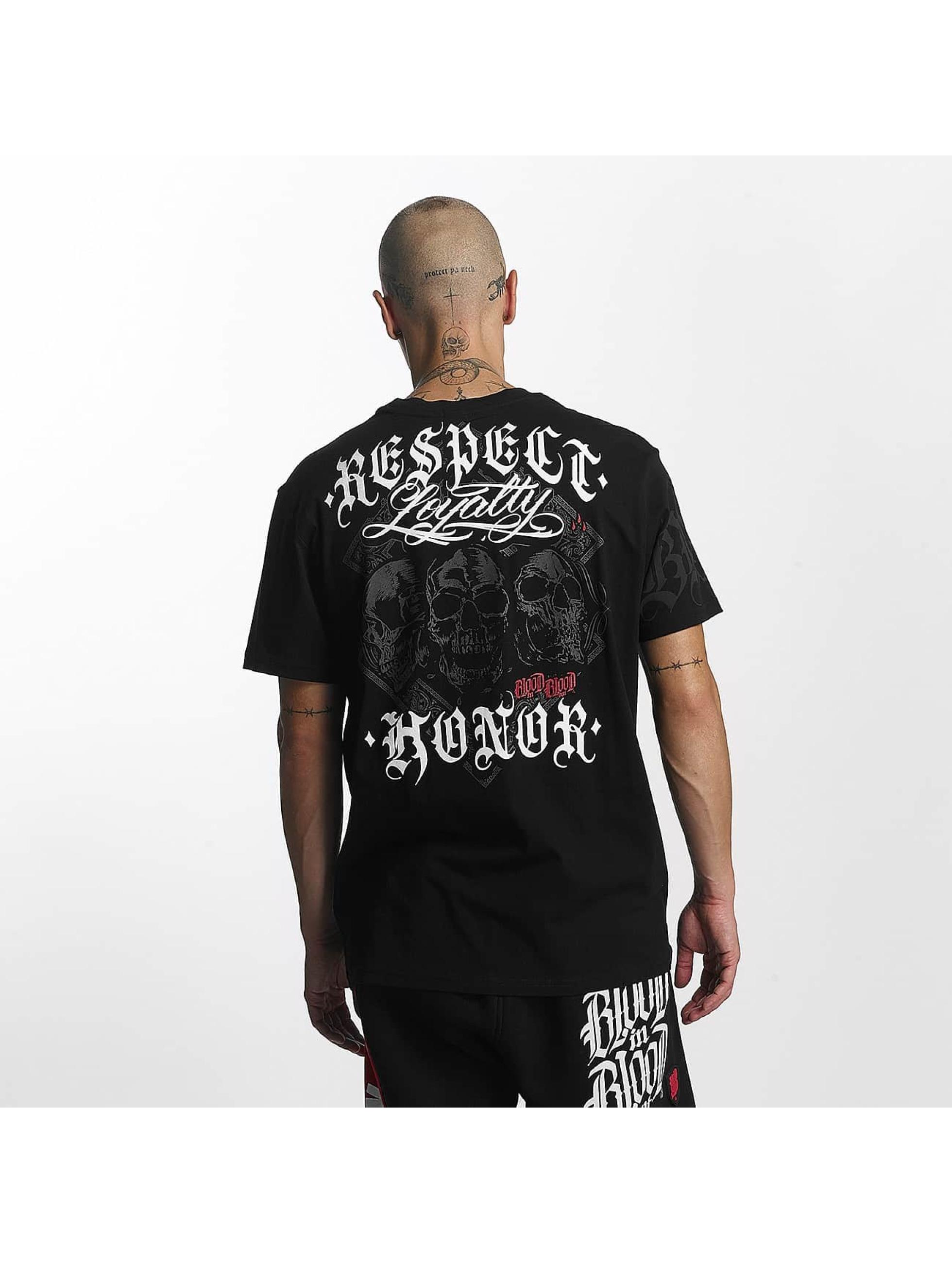 Blood In Blood Out t-shirt Lema zwart