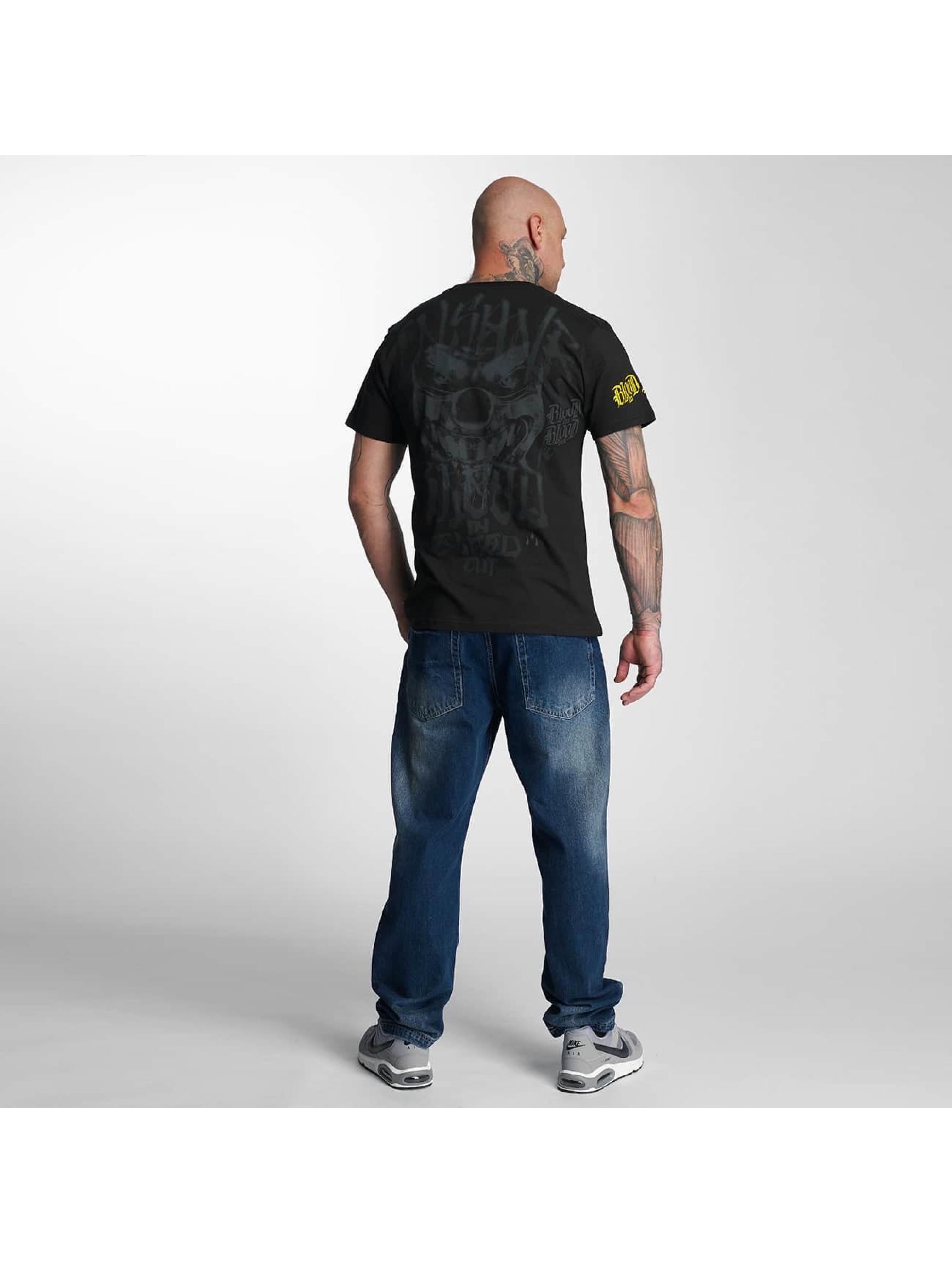 Blood In Blood Out T-Shirty Yellow Harlekin czarny