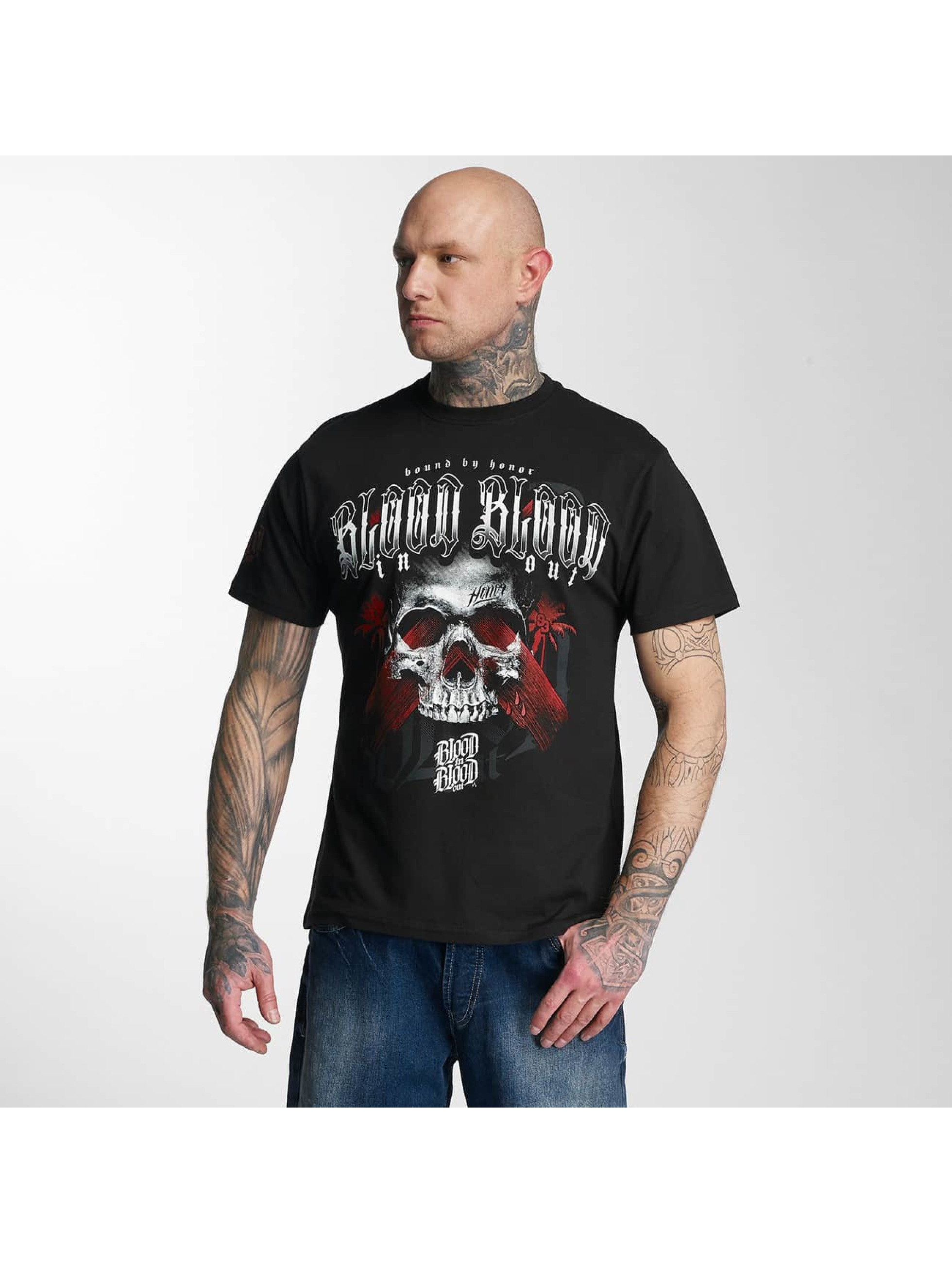 Blood In Blood Out T-Shirty Black Honor czarny