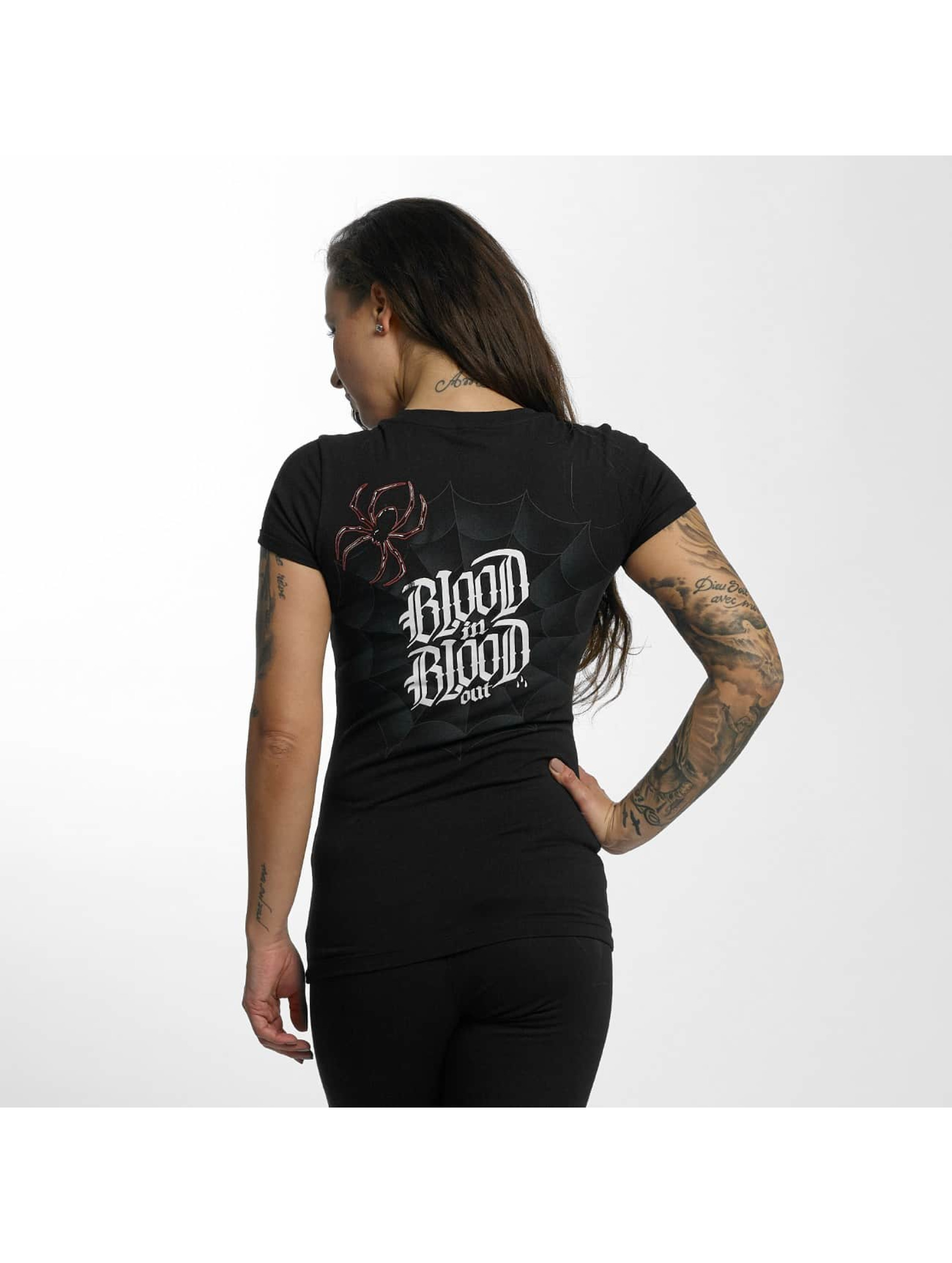 Blood In Blood Out T-Shirty Ranio Negro czarny