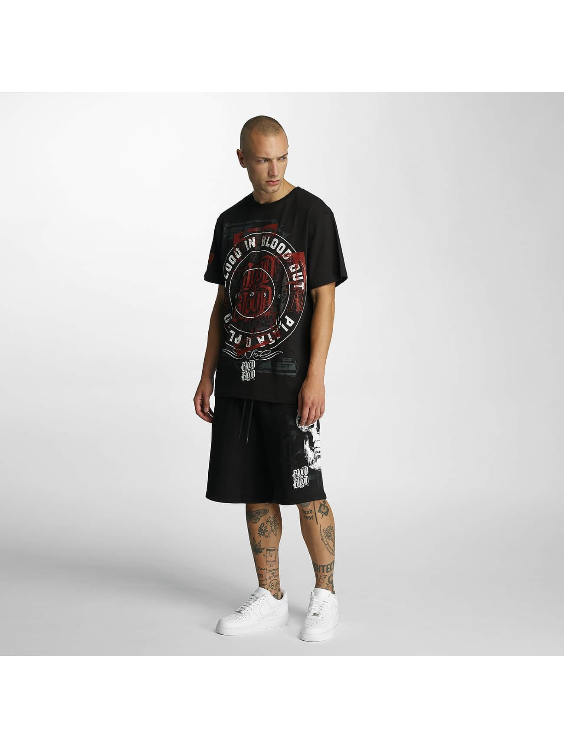 Blood In Blood Out T-Shirty Plata O Plomo czarny