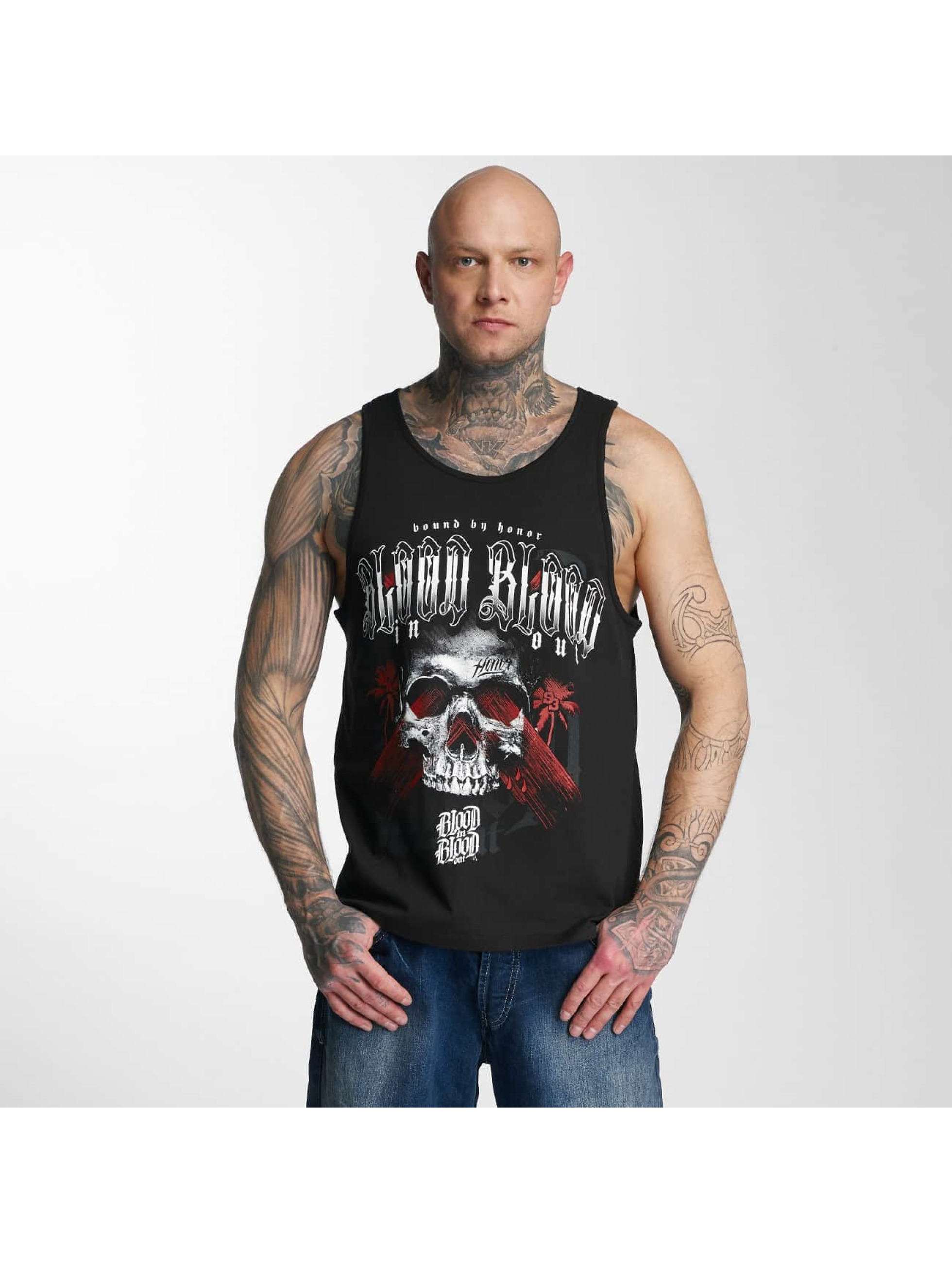 Blood In Blood Out Tank Tops Blood Out Black Honor èierna