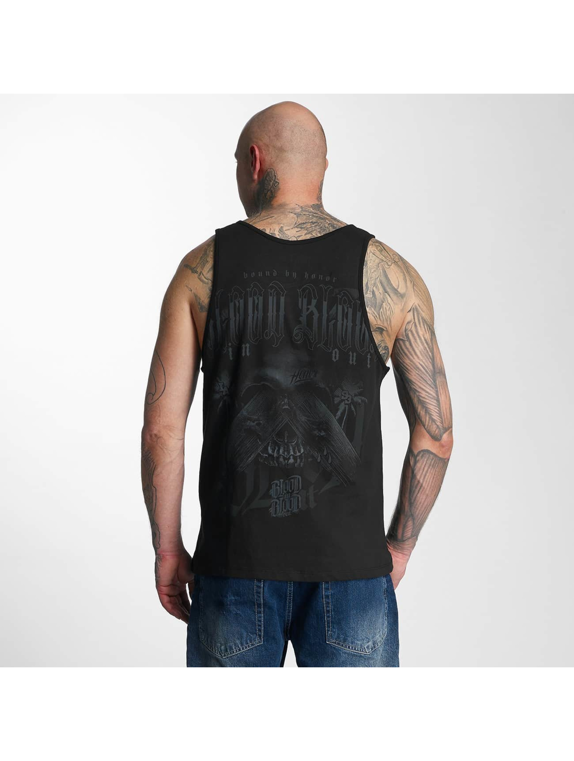 Blood In Blood Out Tank Tops Blood Out Black Honor czarny