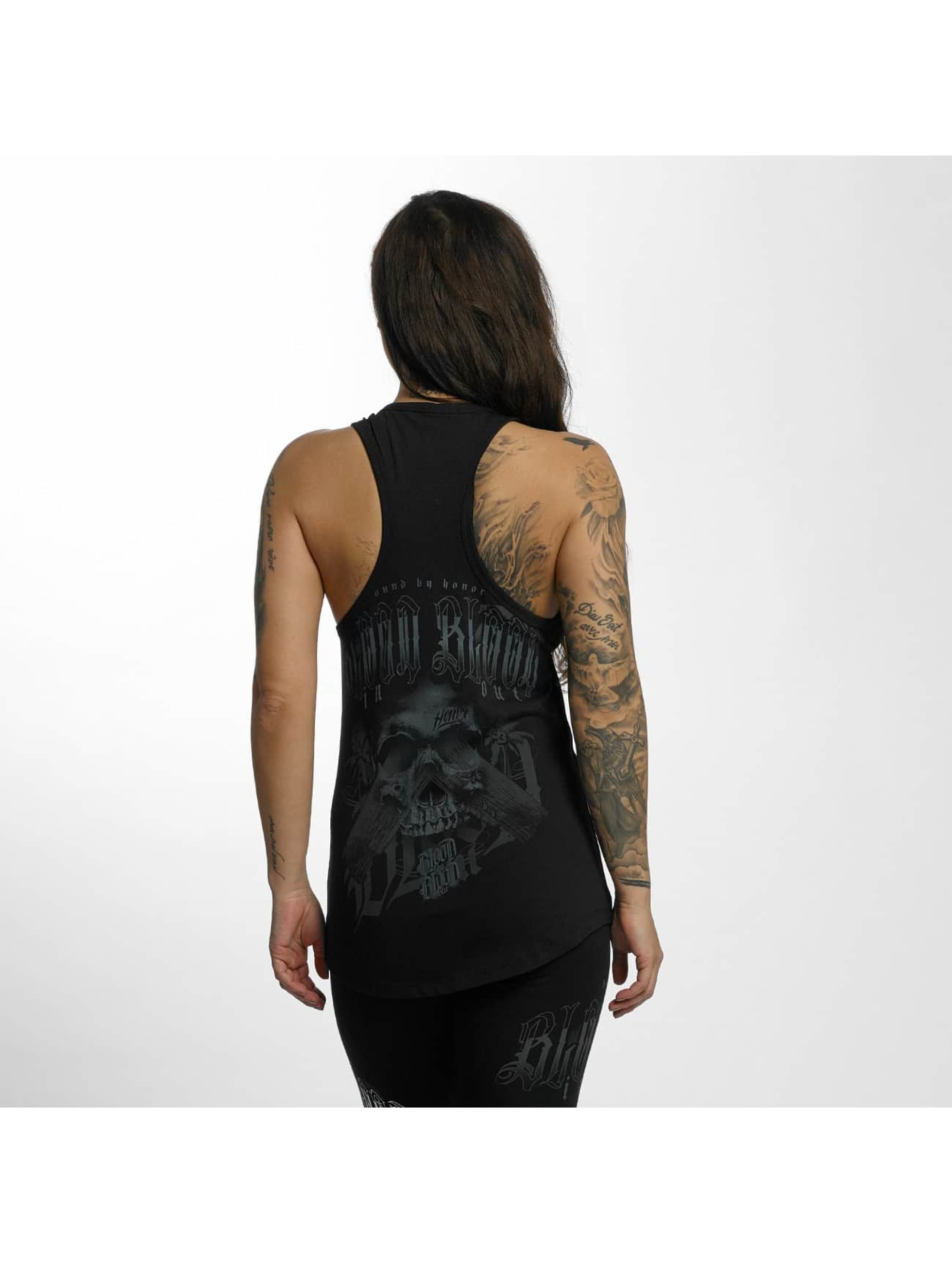 Blood In Blood Out Tank Tops Black Honor schwarz