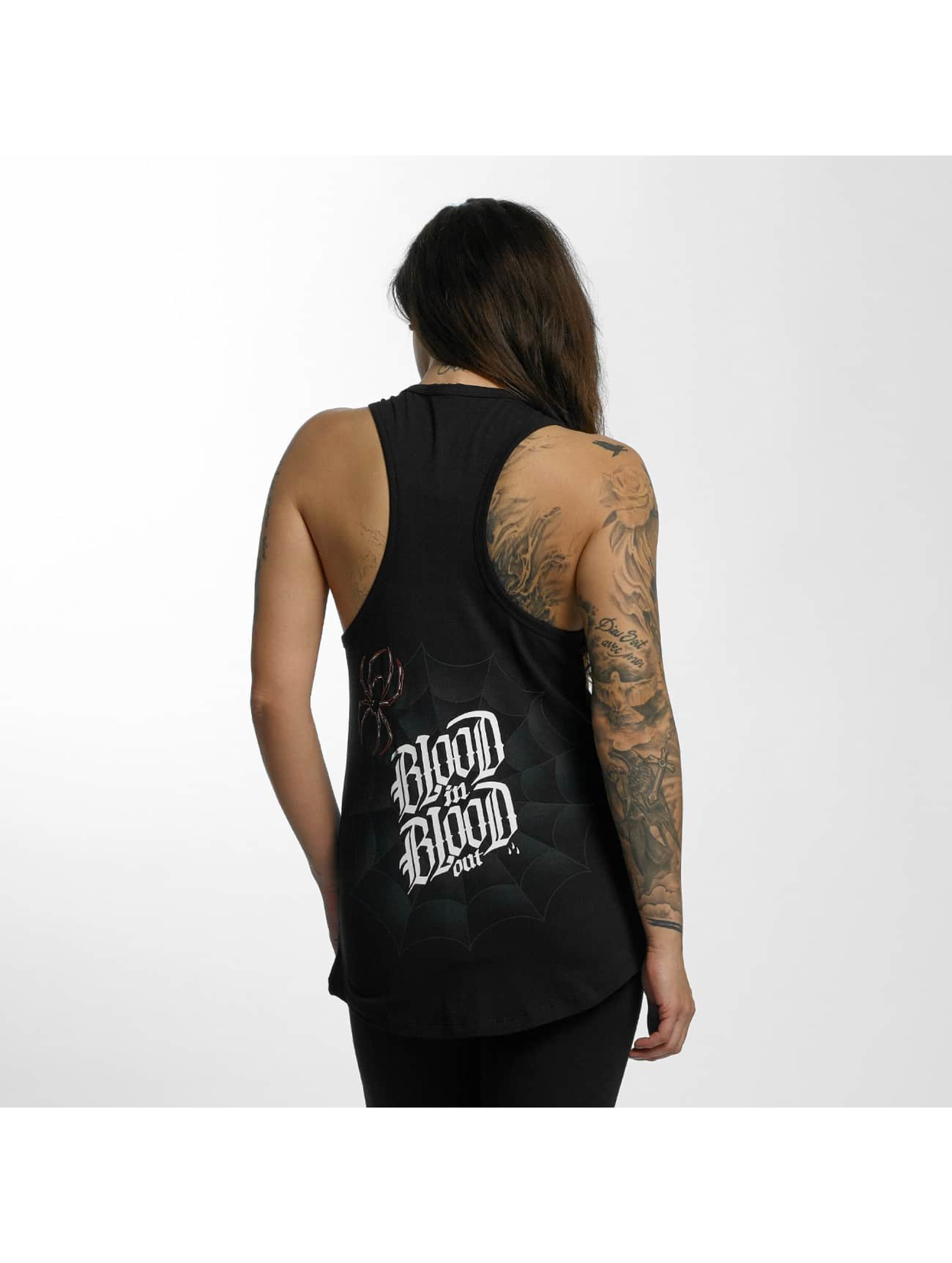 Blood In Blood Out Tank Tops Ranio Negro schwarz