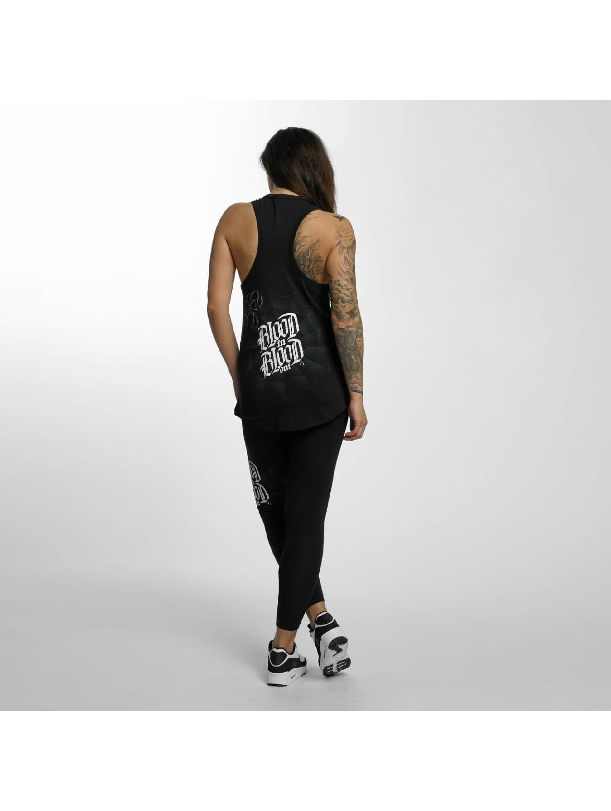 Blood In Blood Out Tank Tops Ranio Negro svart