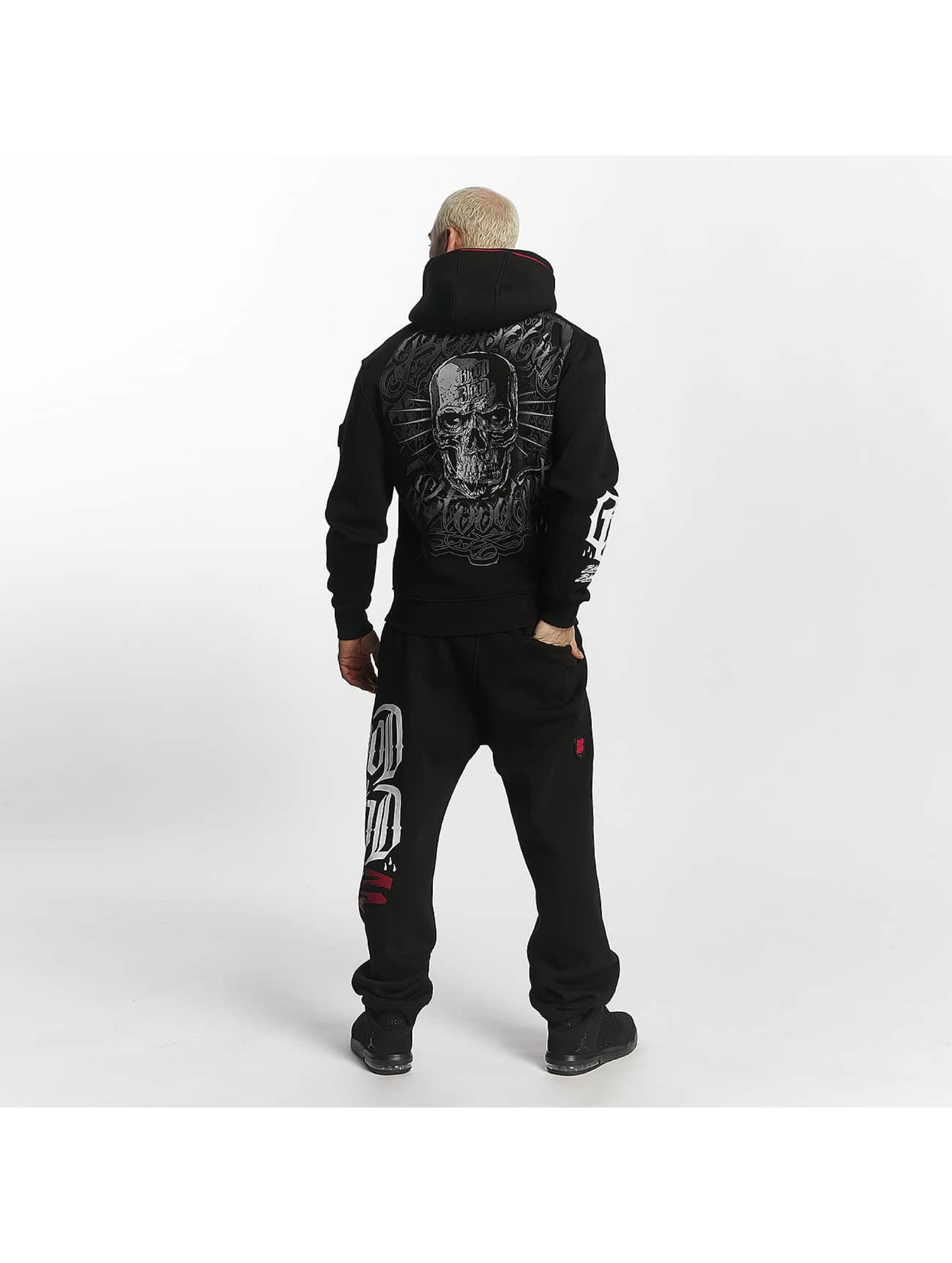 Blood In Blood Out Zip Hoodie Infernal черный