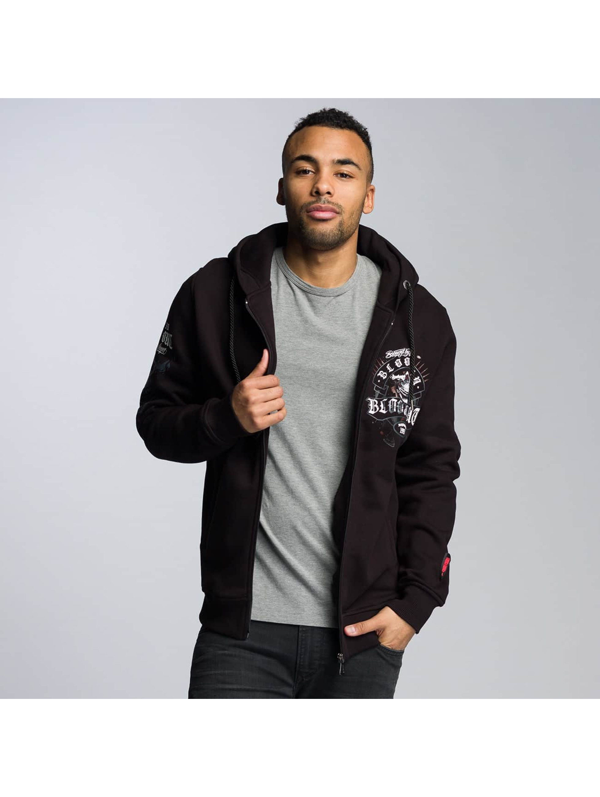 Blood In Blood Out Zip Hoodie Sonora schwarz