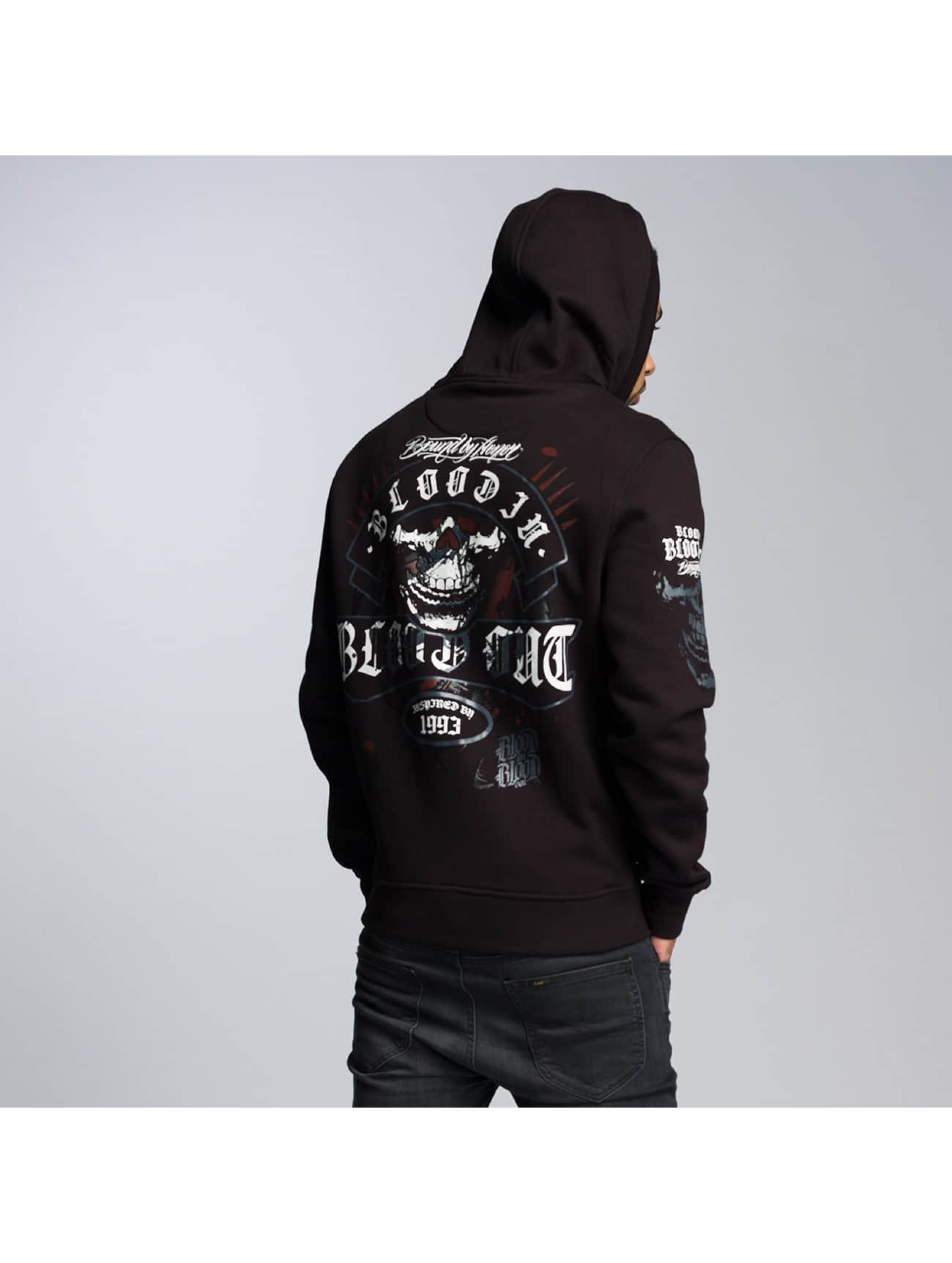 Blood In Blood Out Zip Hoodie Sonora svart