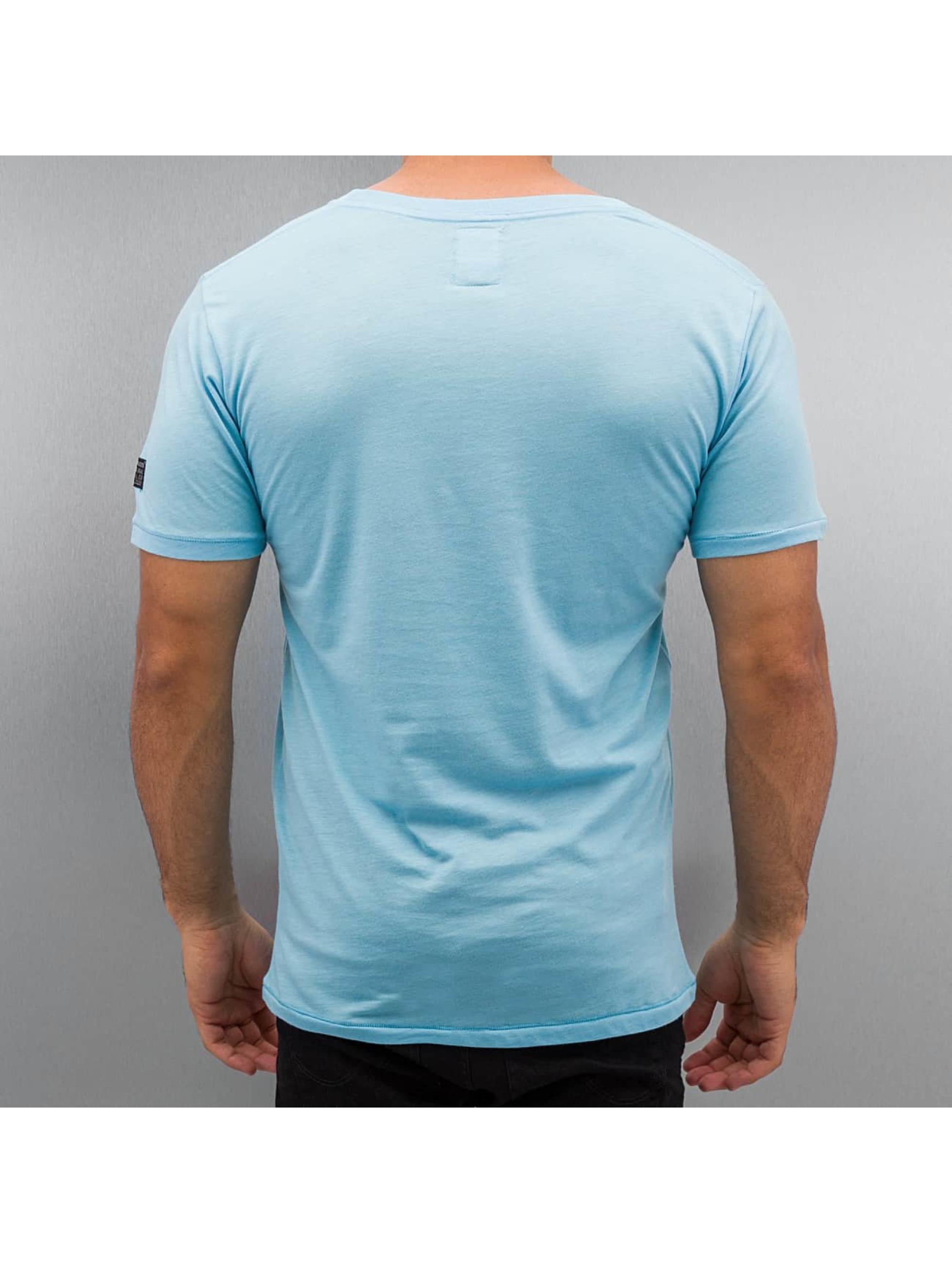 BOXHAUS Brand T-paidat Sisco turkoosi