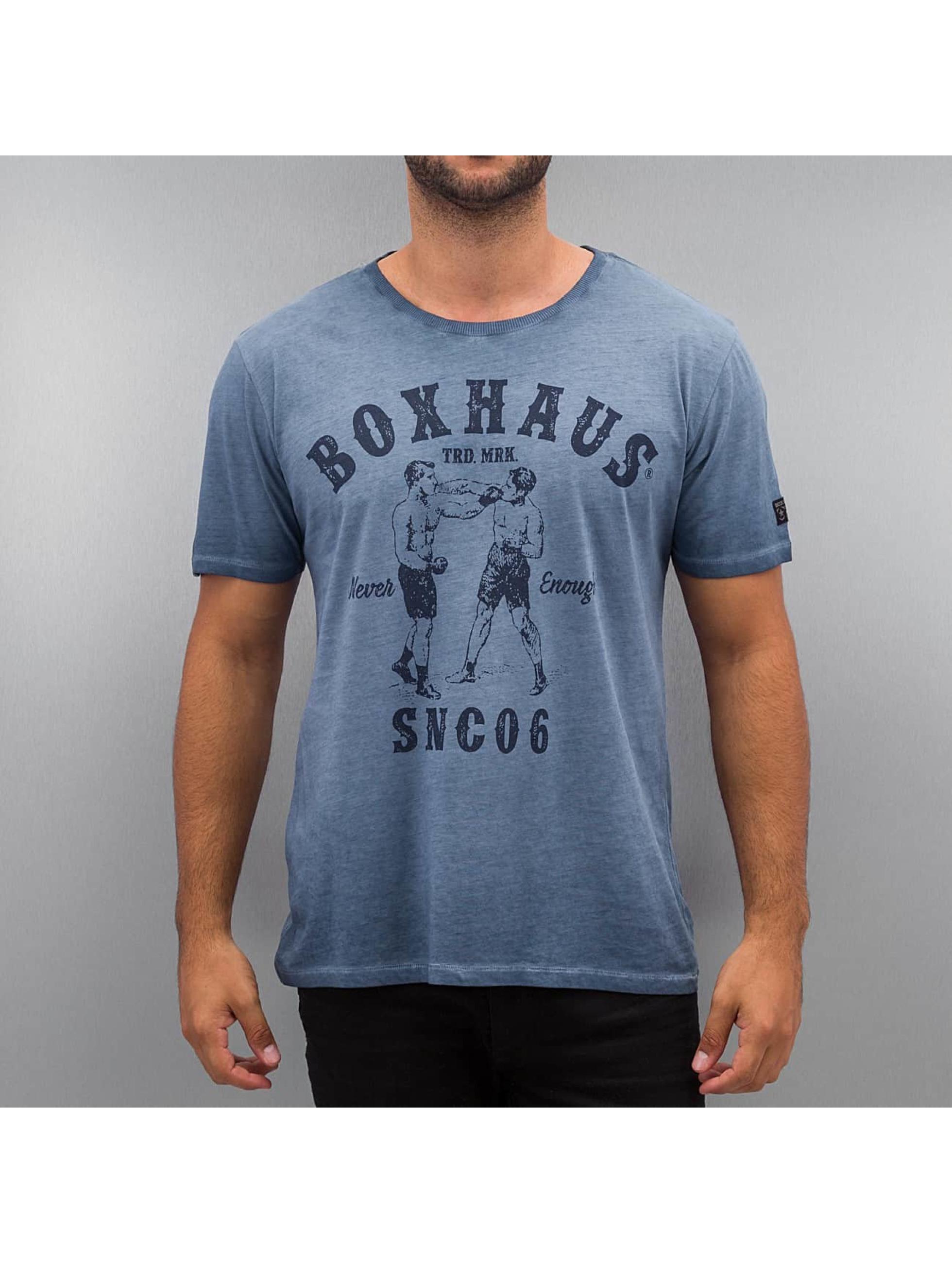 BOXHAUS Brand T-Shirt Aron blau