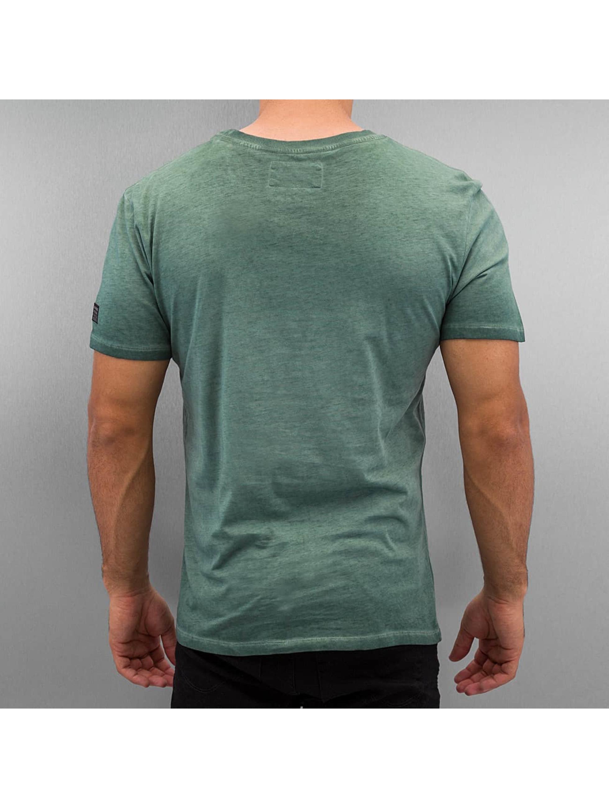 BOXHAUS Brand t-shirt E.S.S. groen