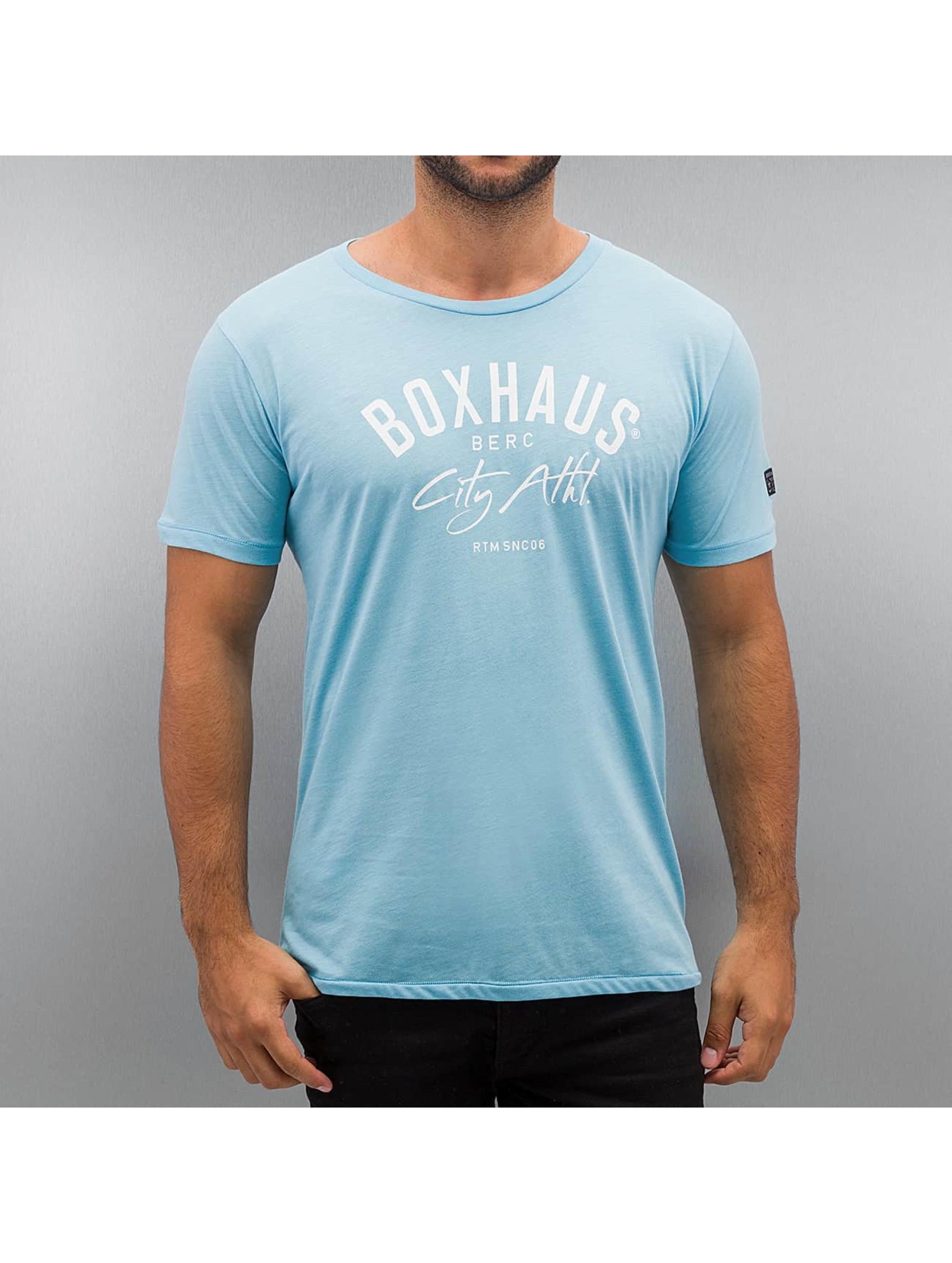 BOXHAUS Brand Tričká Sisco tyrkysová