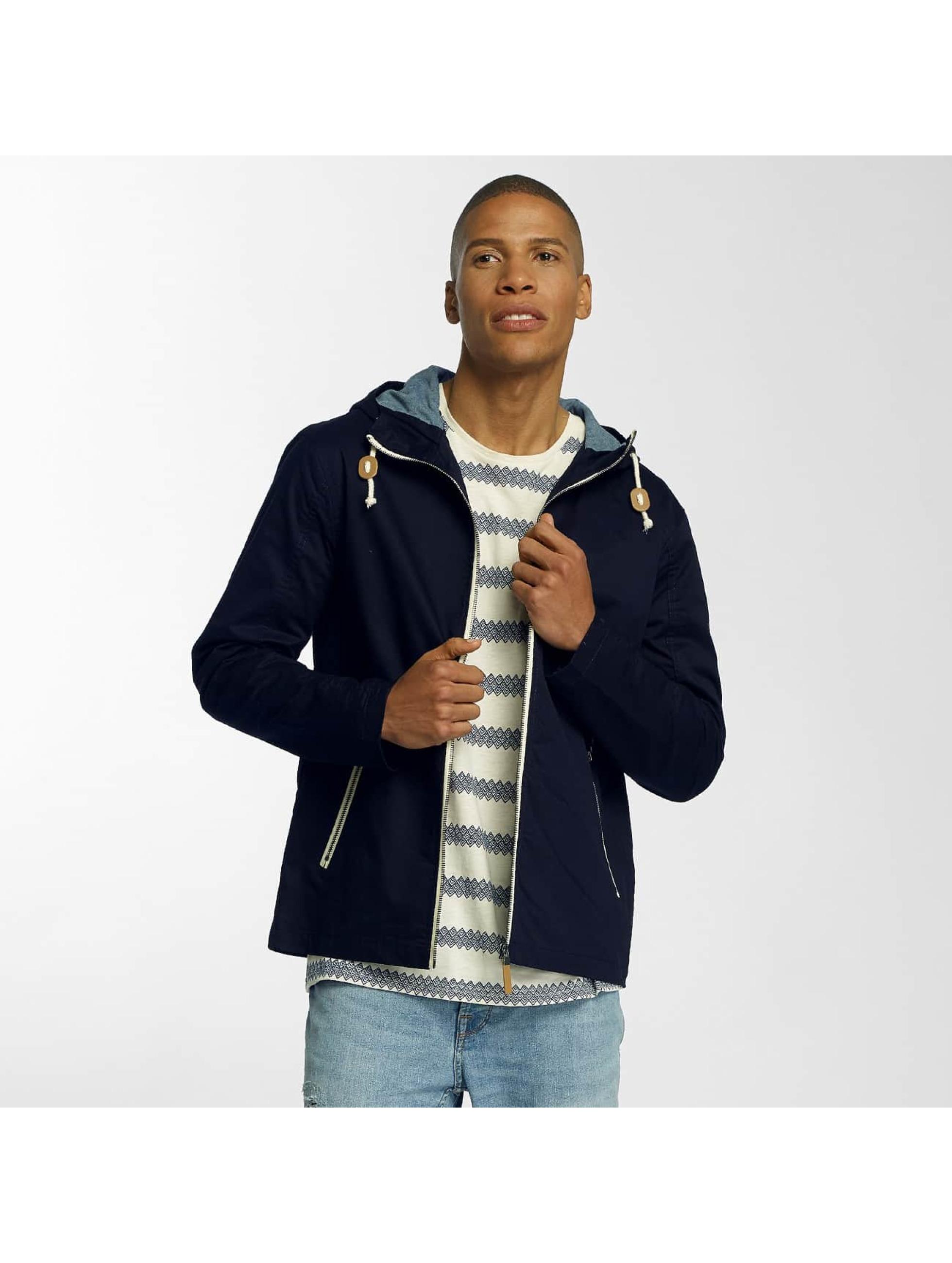 Brave Soul Демисезонная куртка Lightweight Cotton синий