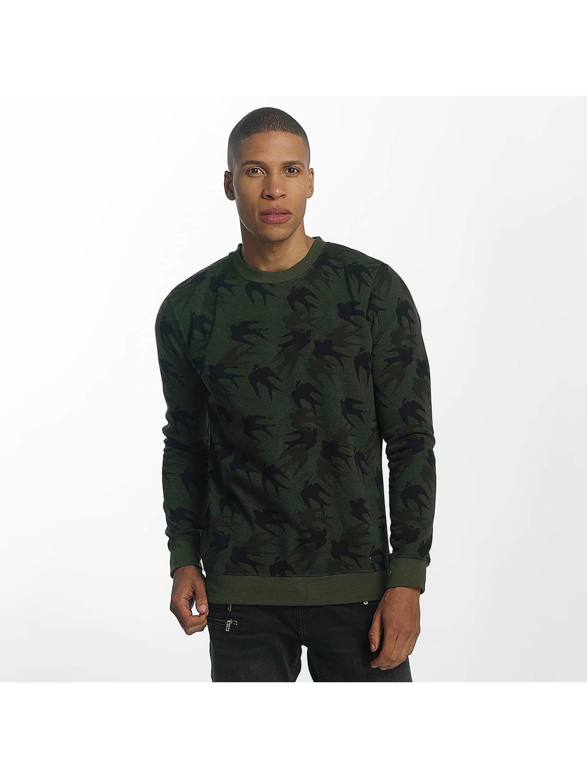 Brave Soul Пуловер Sweatshirt Mid хаки
