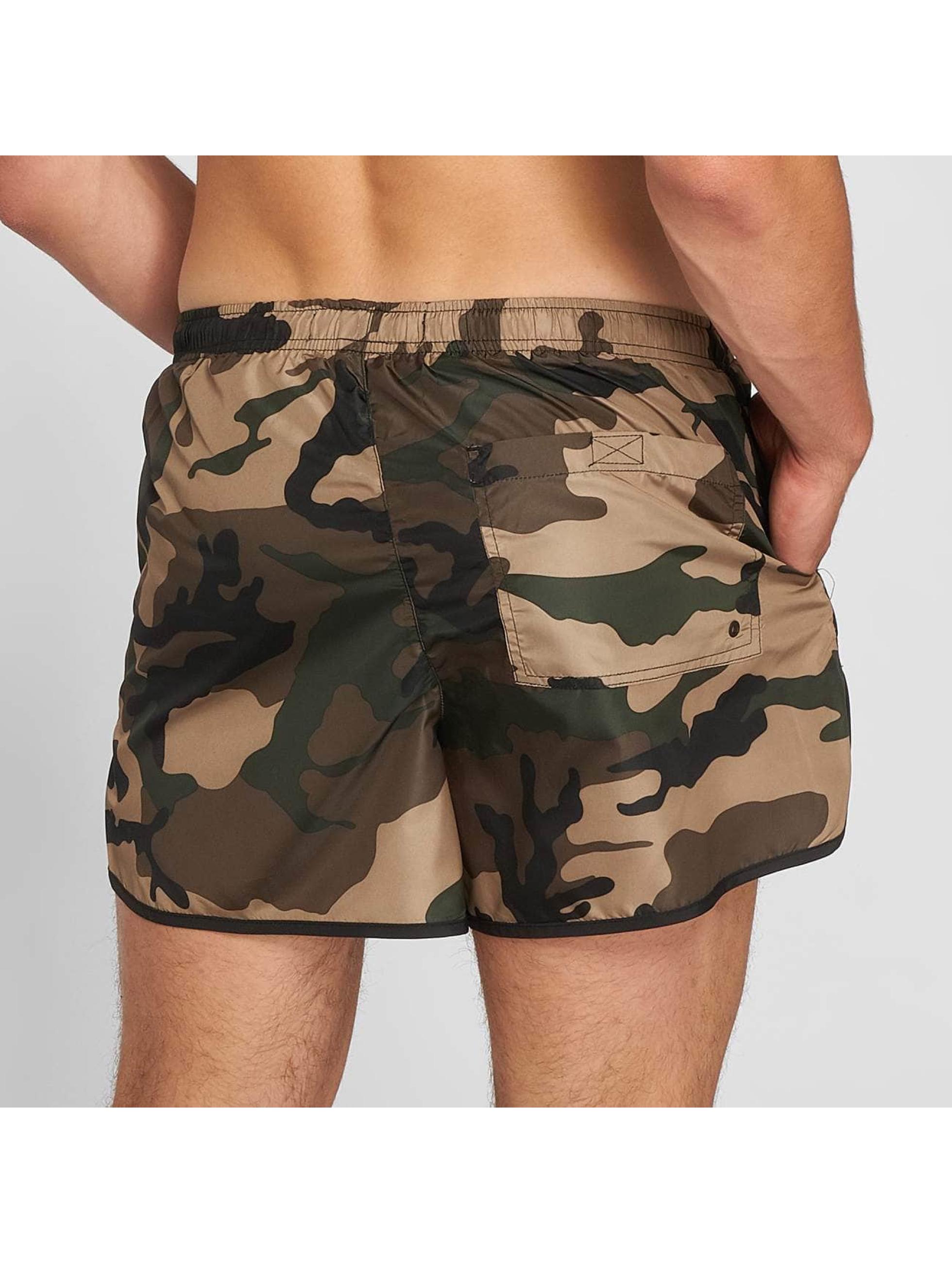Brave Soul Badeshorts Garrison camouflage
