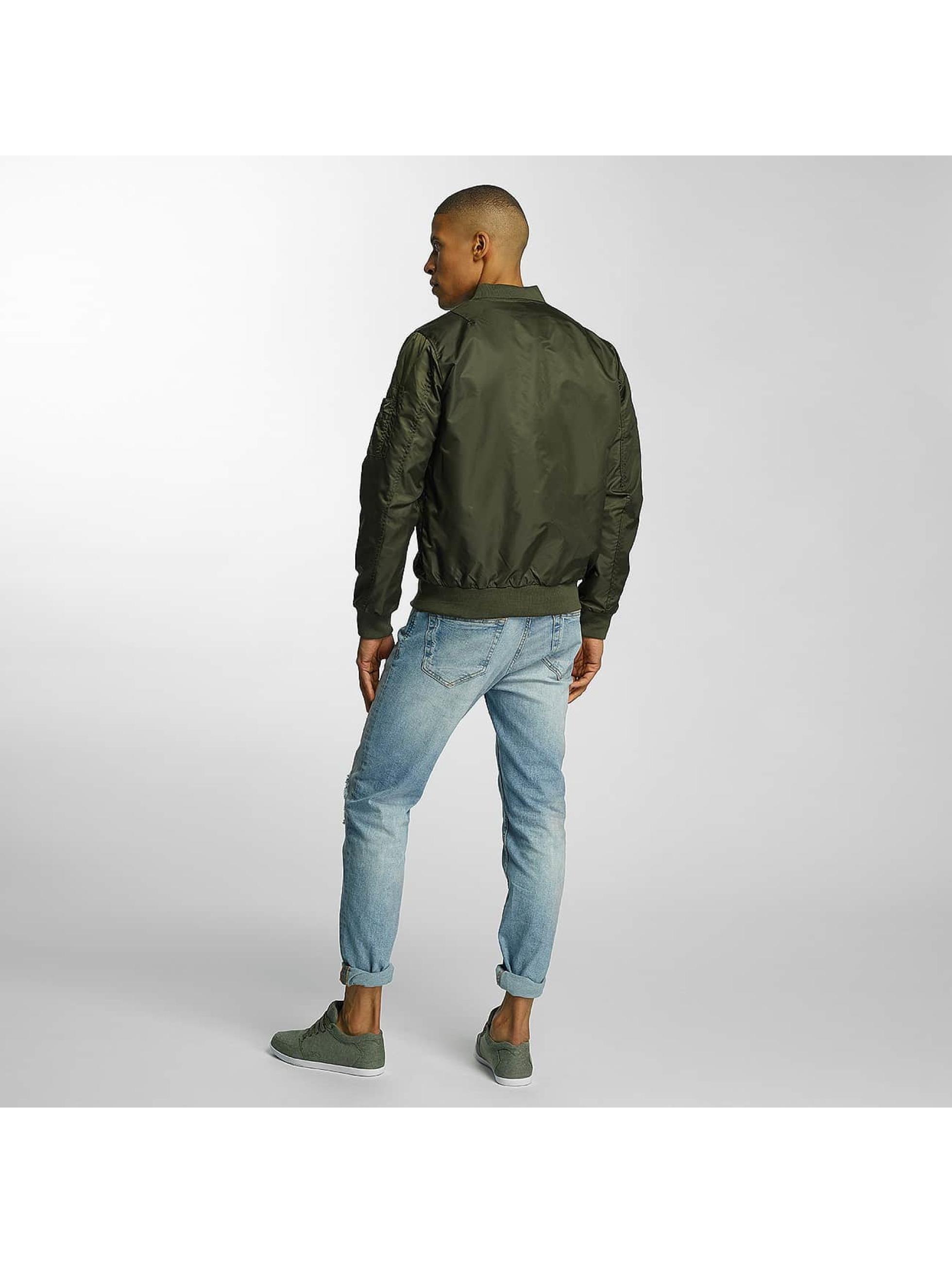 Brave Soul Bomberjack Nylon Short khaki