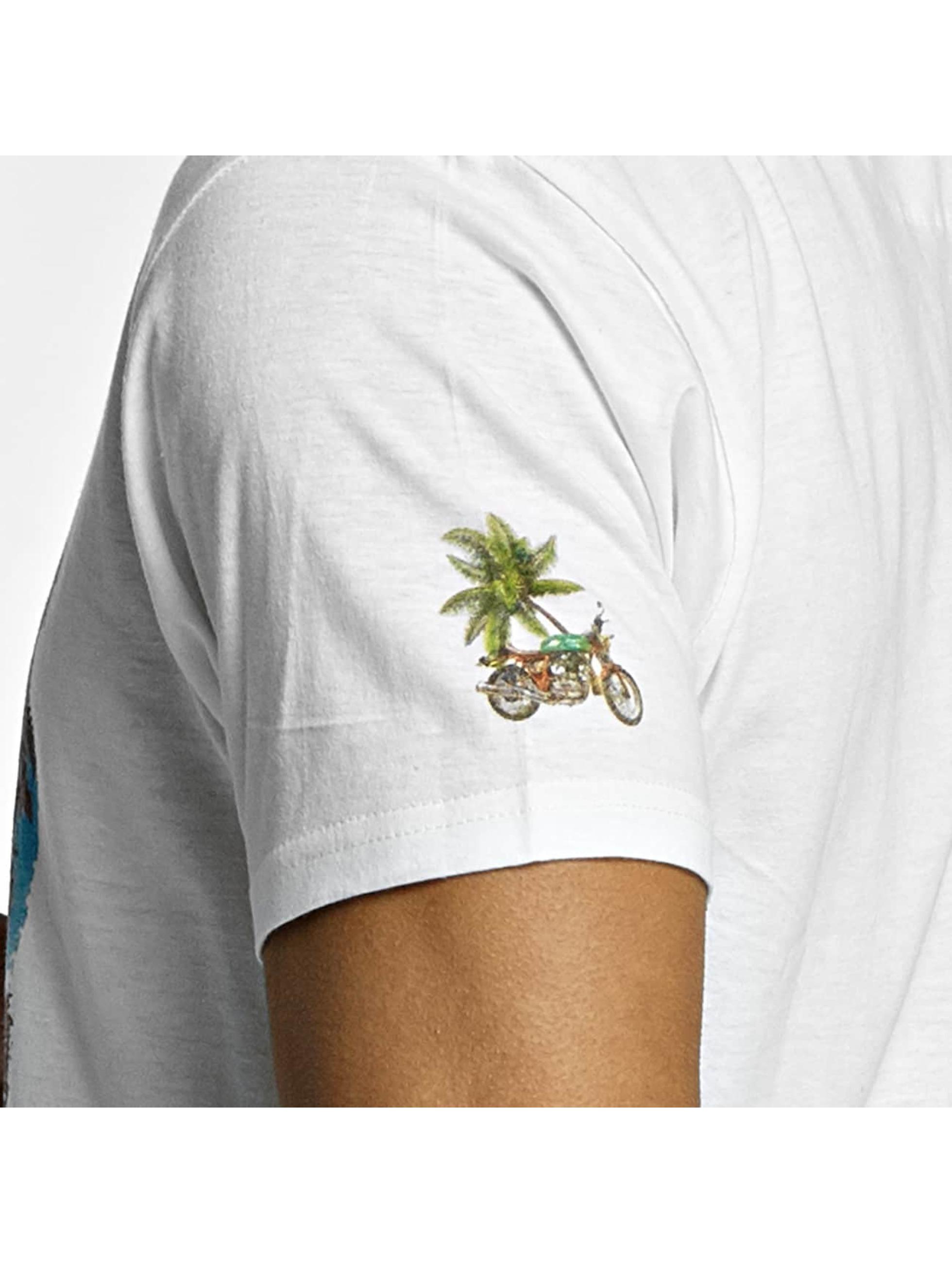 Brave Soul Camiseta Crew Neck blanco
