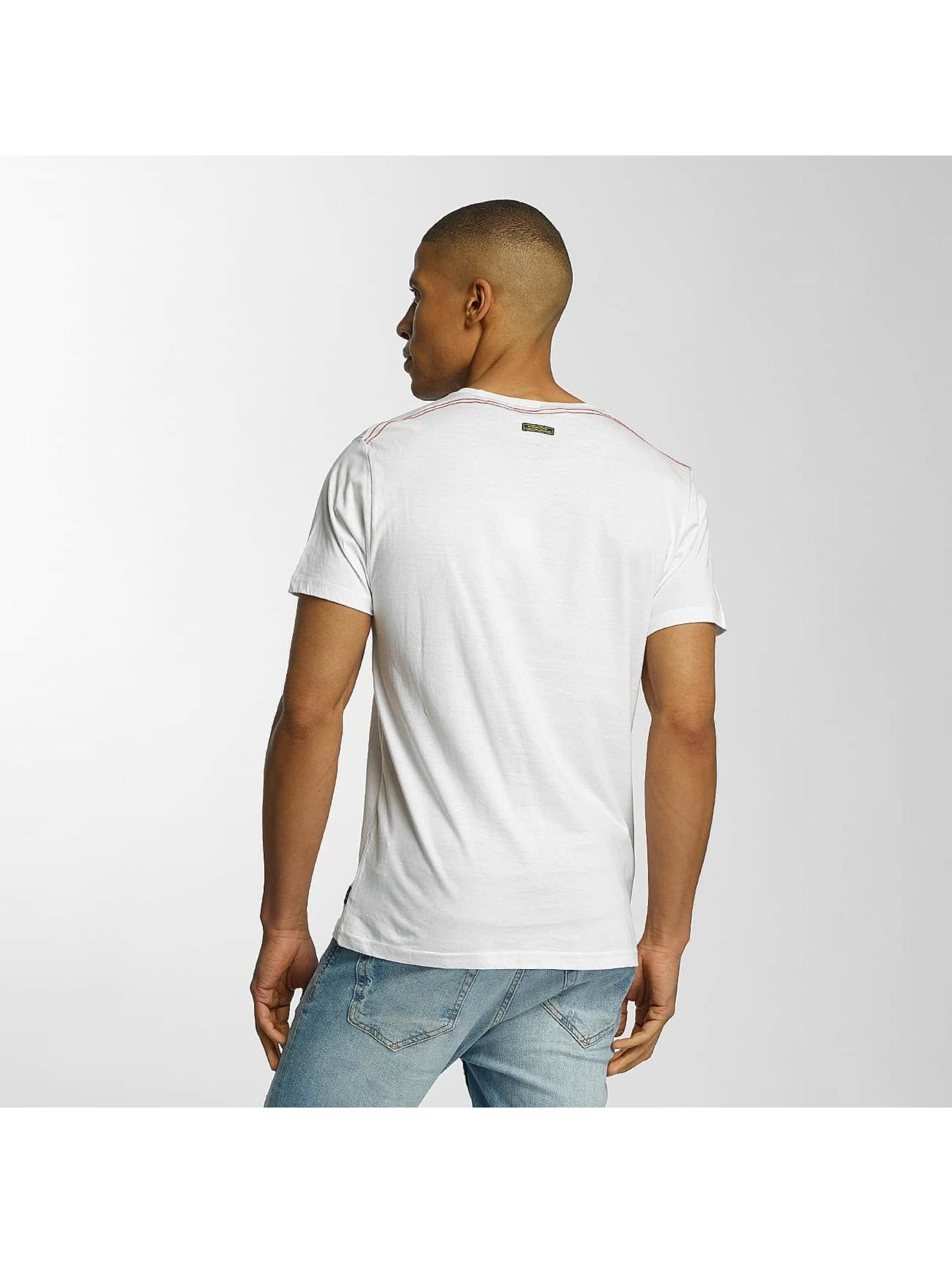 Brave Soul Camiseta Crew Neck Set blanco