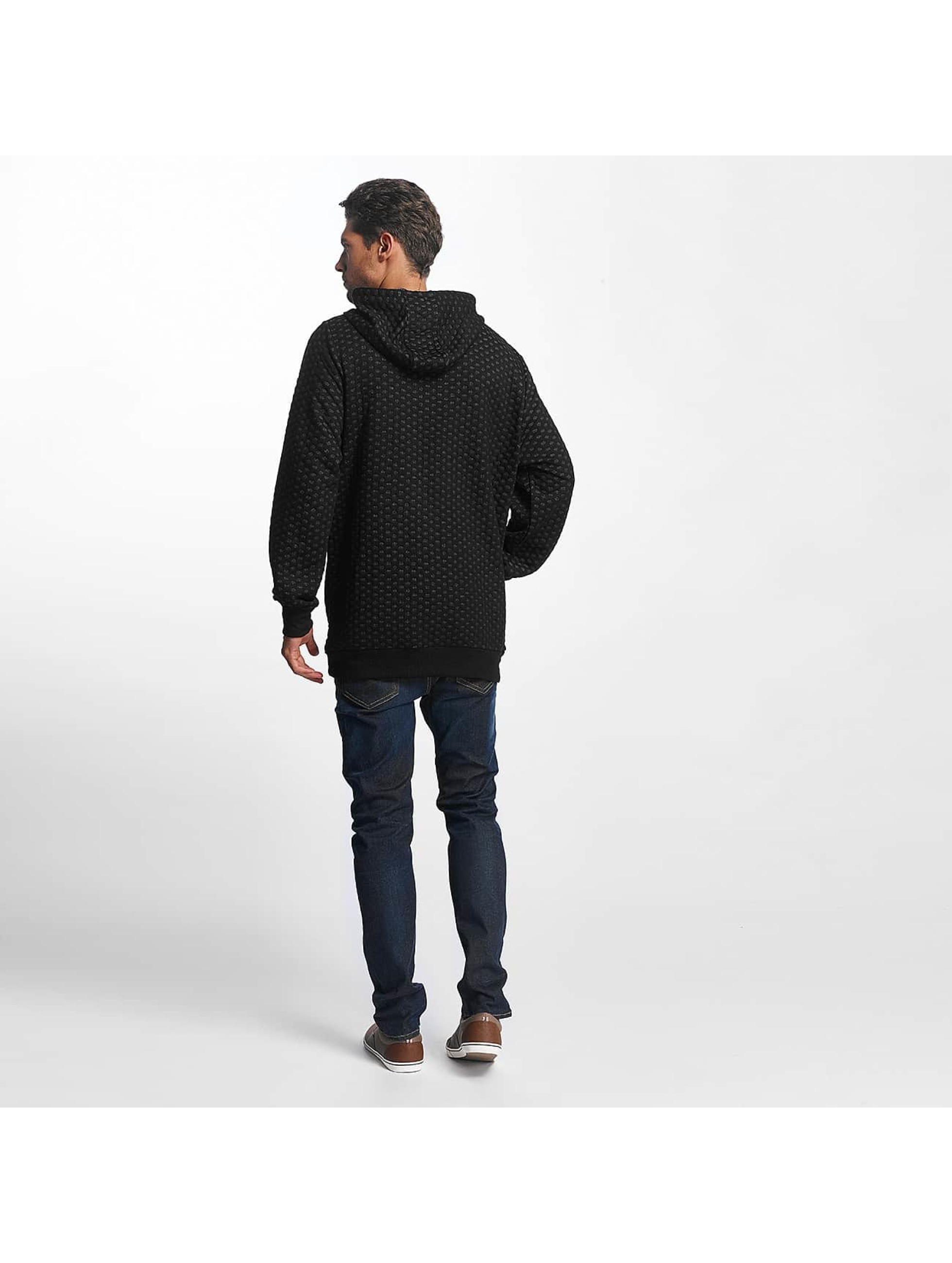 Brave Soul Hoodie Saxon Overhead With DTM black