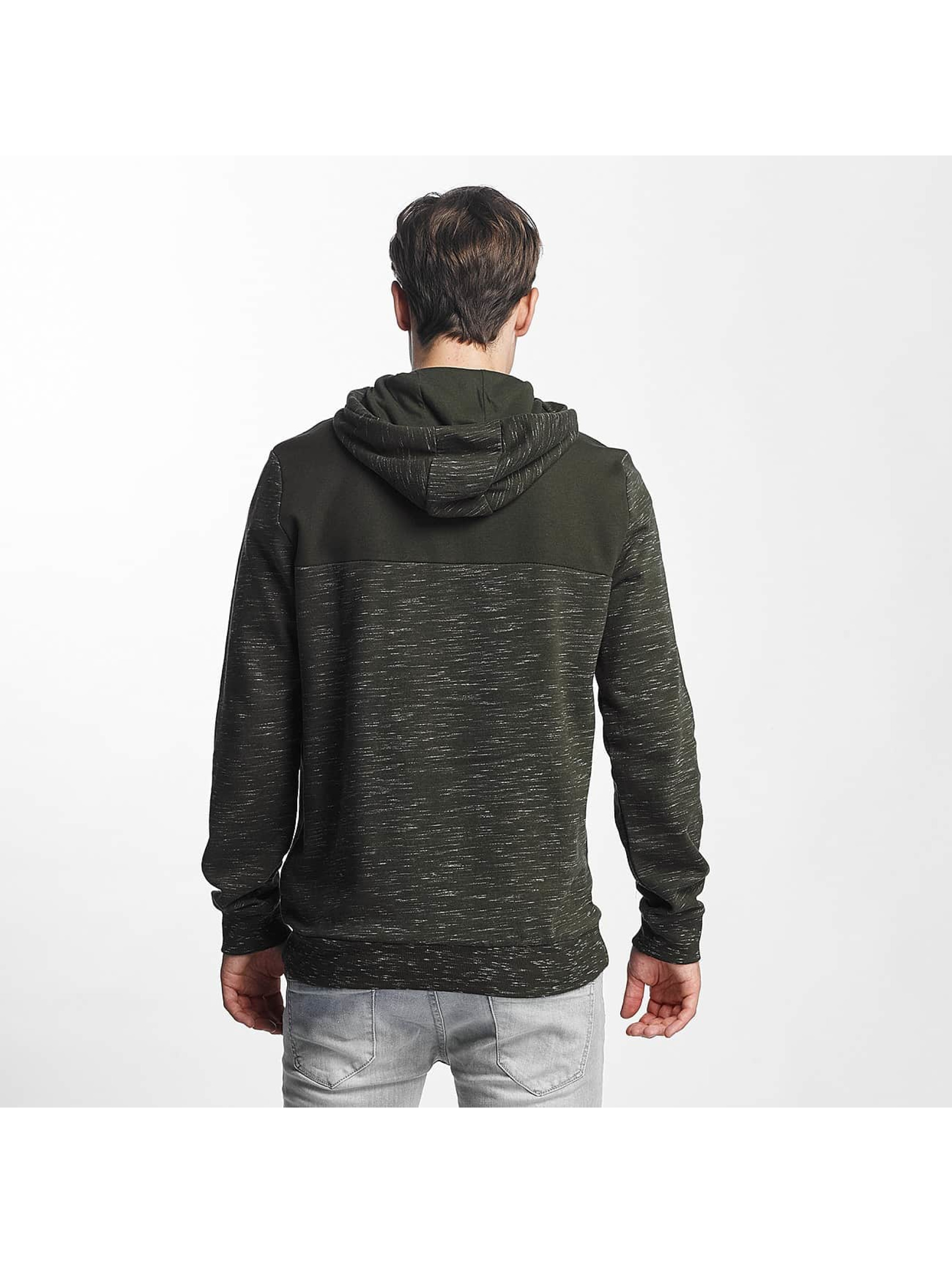 Brave Soul Hoodie Fleck Detail To Body Jumper khaki
