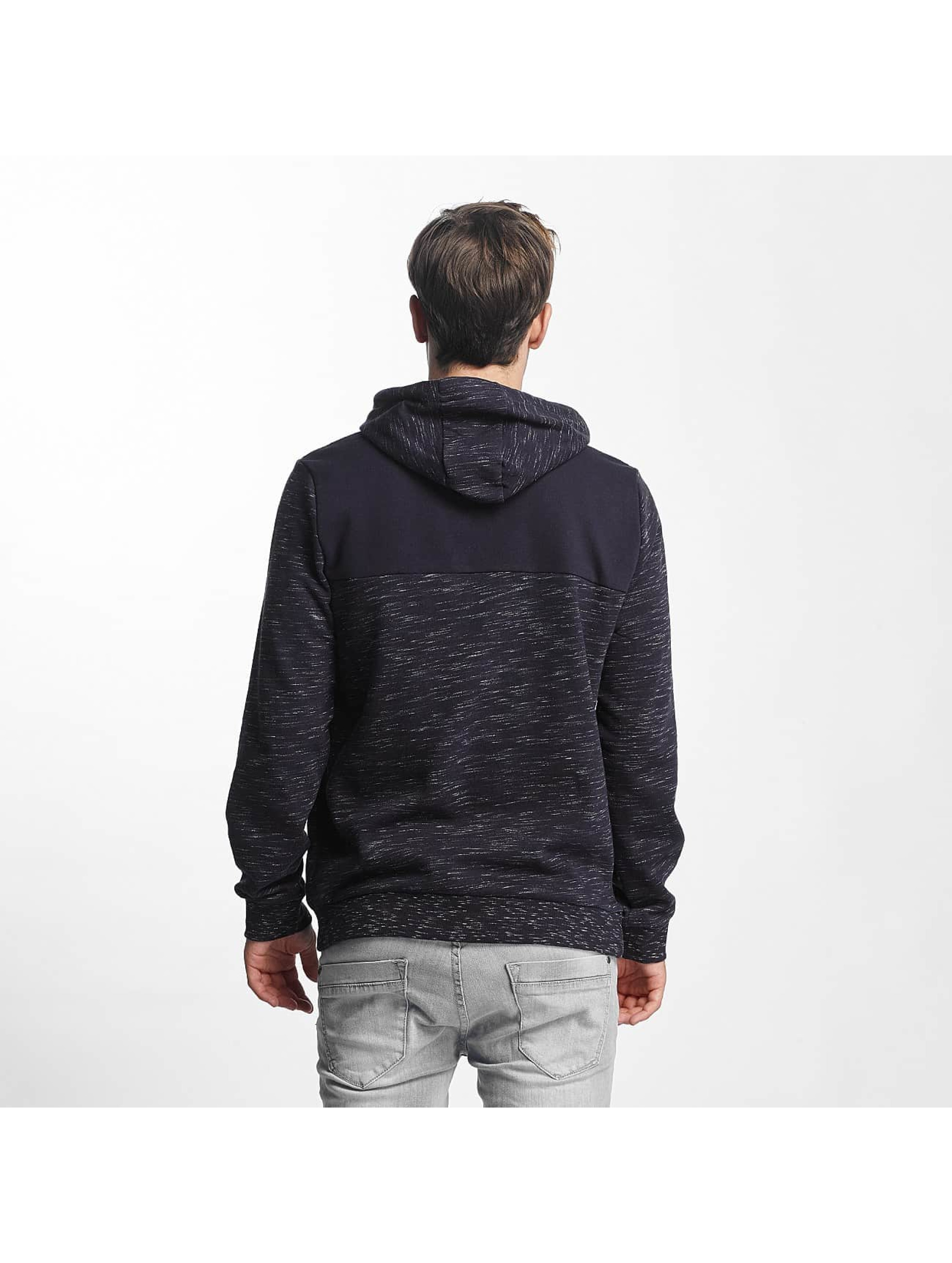 Brave Soul Hoody Fleck Detail To Body blau