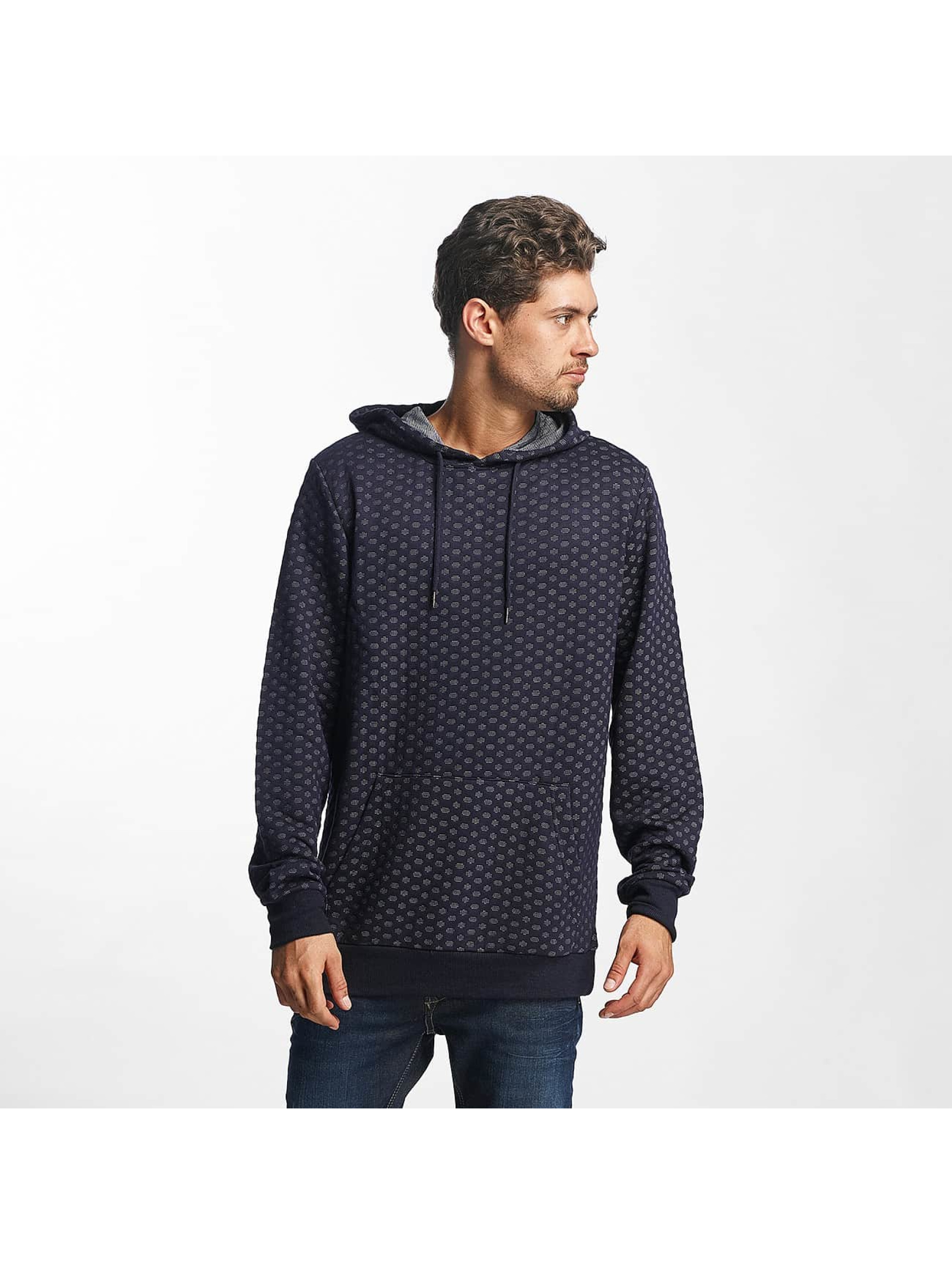 Brave Soul Hoody Saxon Overhead With DTM Shoelace blauw