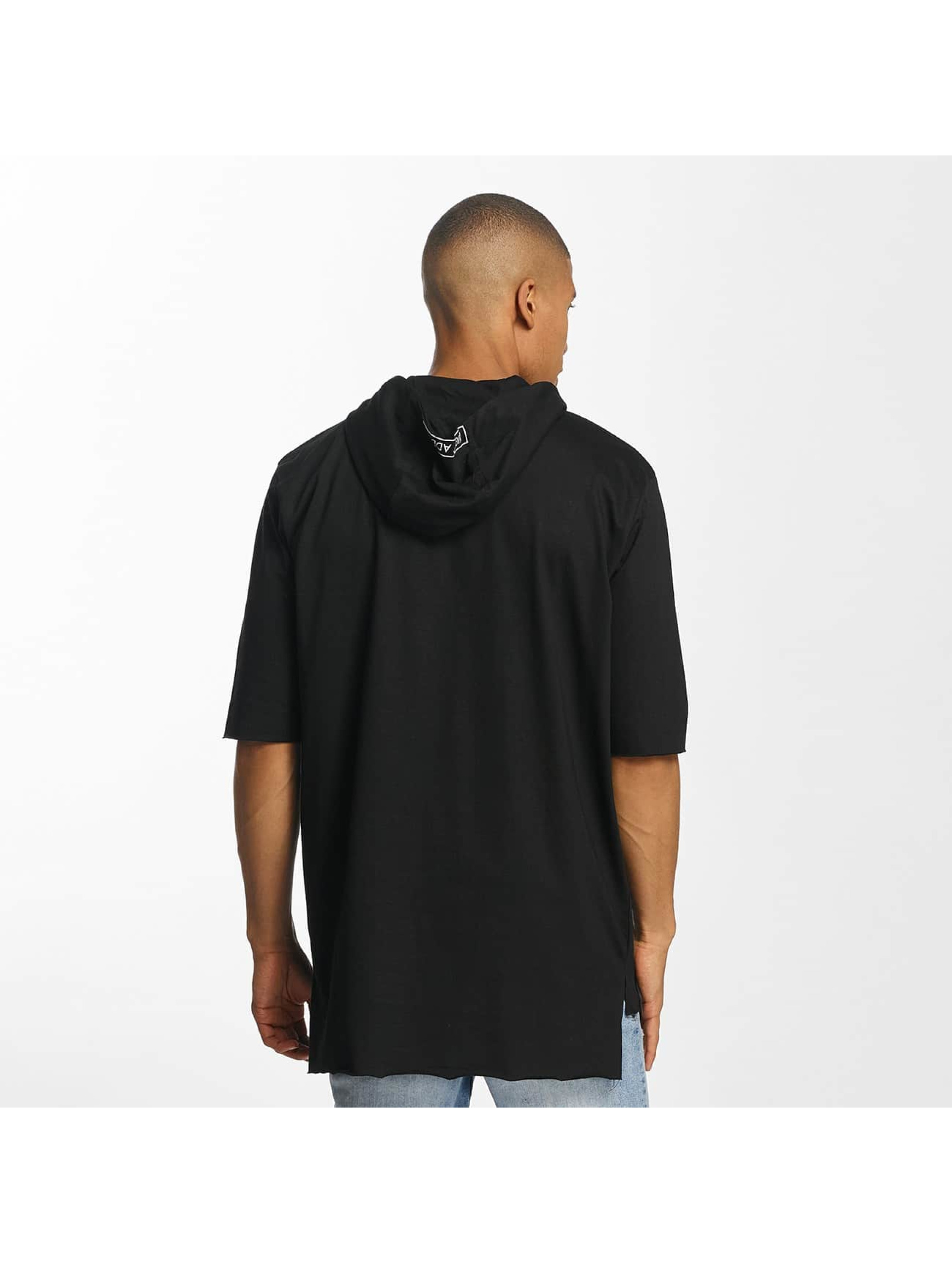 Brave Soul Hoody With X 2 Bird Embroideries zwart