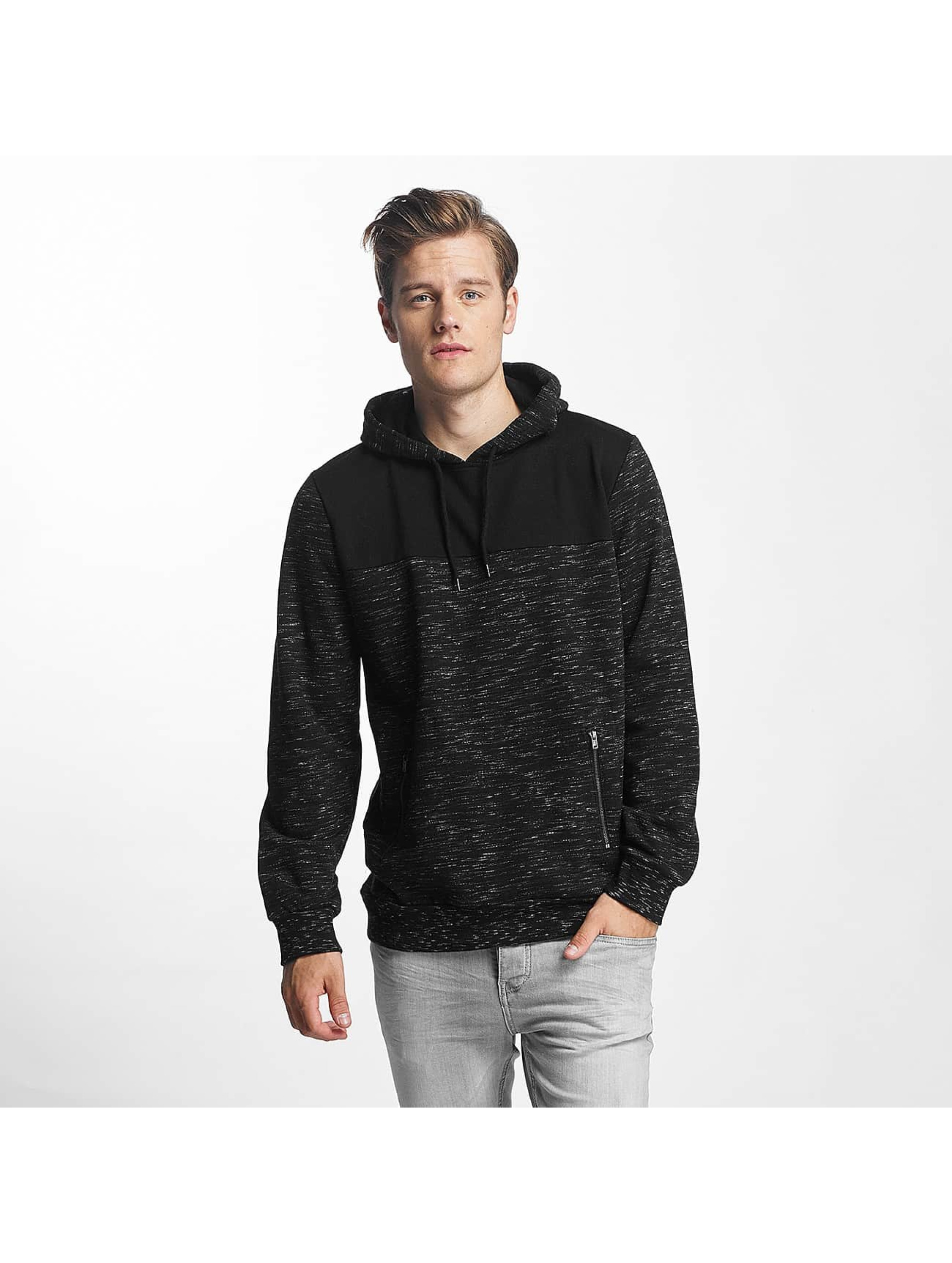 Brave Soul Hoody Fleck Detail To Body zwart