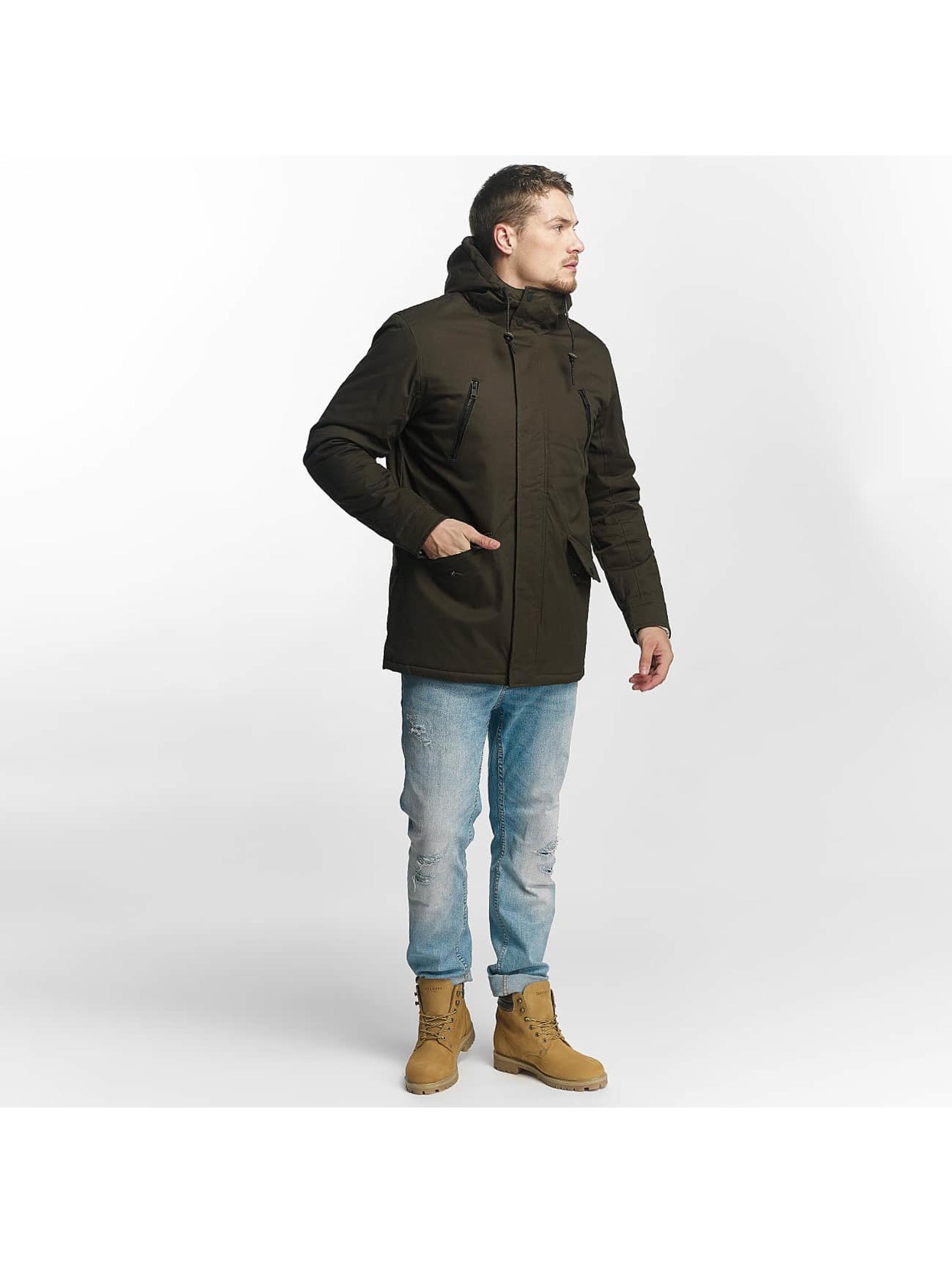 Brave Soul Kurtki zimowe Brave Soul Winter Jacket oliwkowy