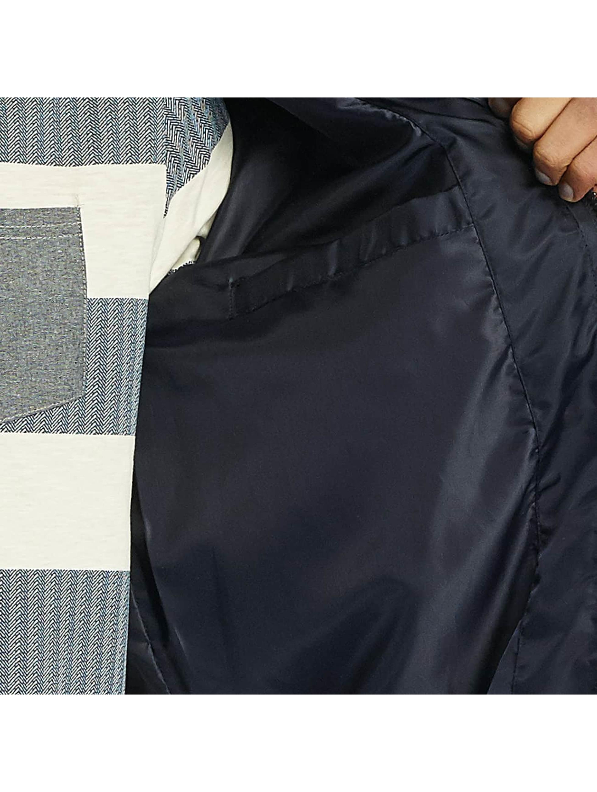 Brave Soul Letecká bunda Nylon Short modrý