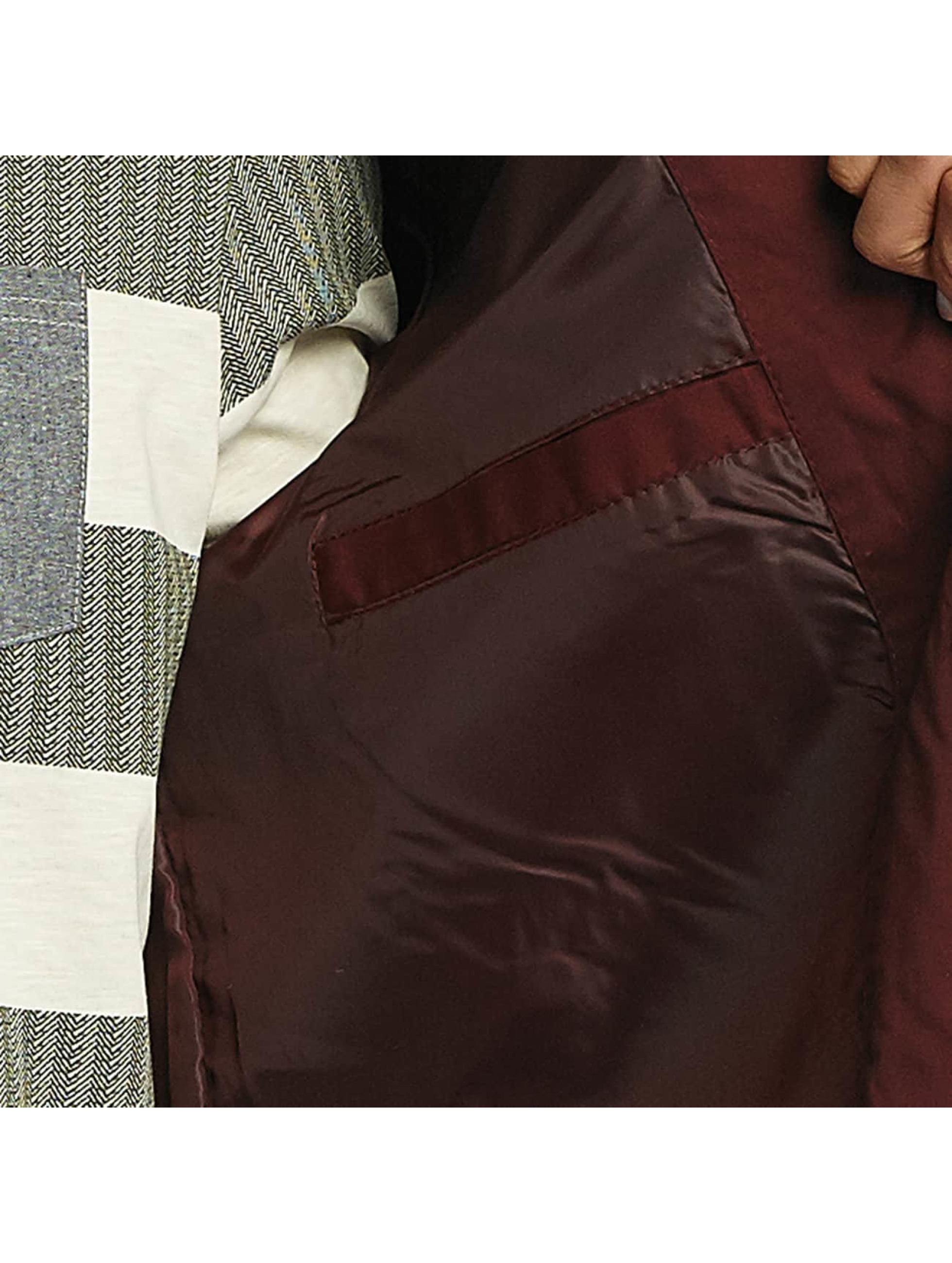 Brave Soul Lightweight Jacket Lightweight Cotton red