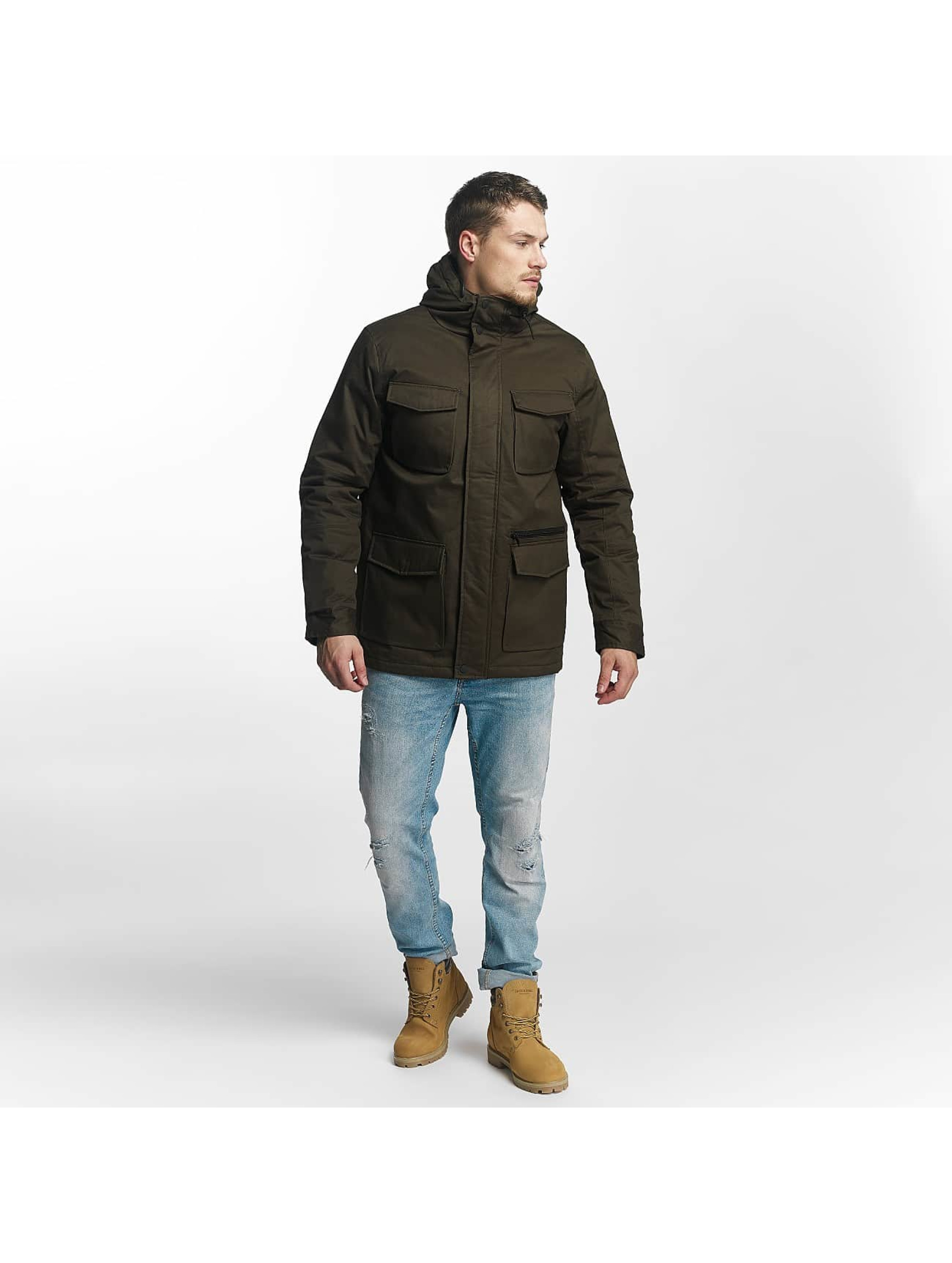 Brave Soul Manteau hiver Brave Soul Winter Jacket kaki