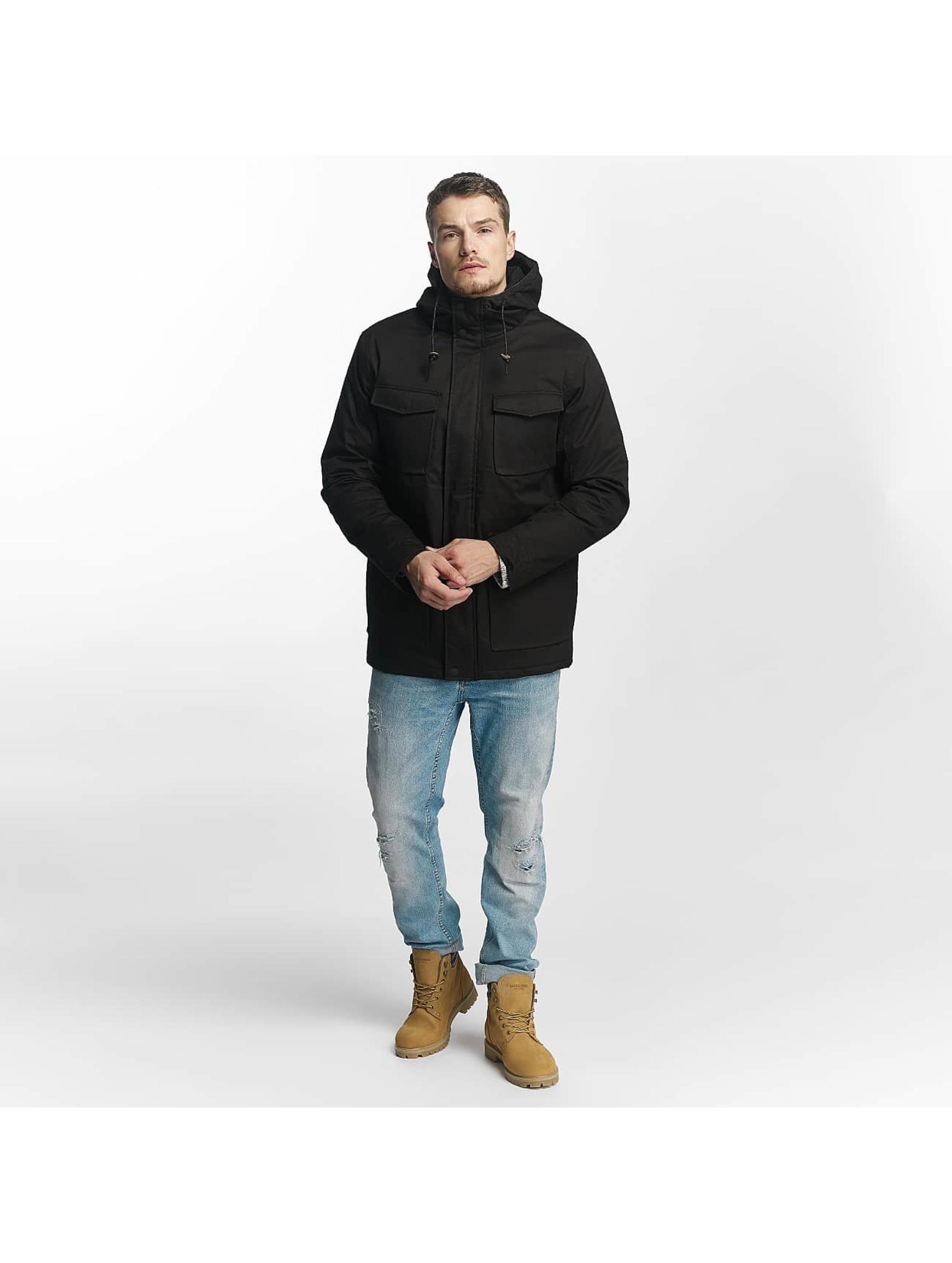 Brave Soul Manteau hiver Brave Soul Winter Jacket noir
