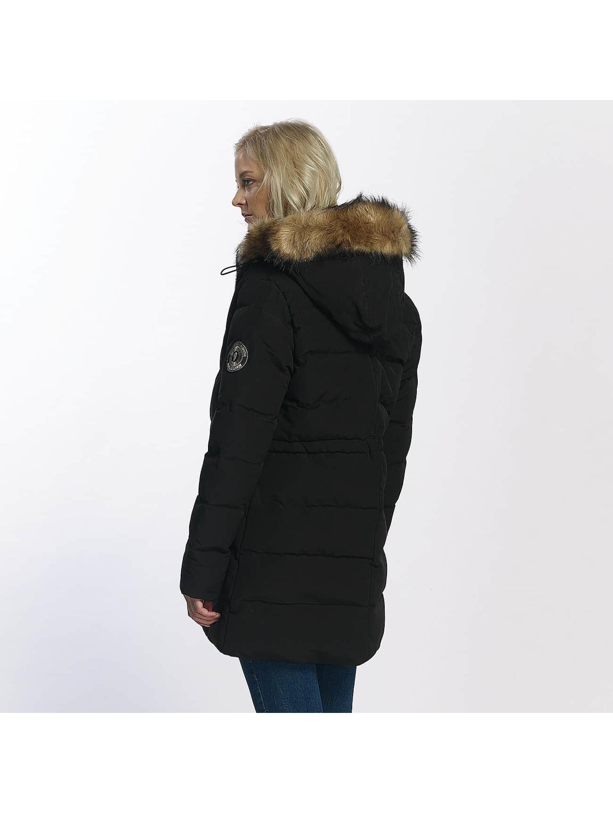 Brave Soul Manteau hiver Winter noir