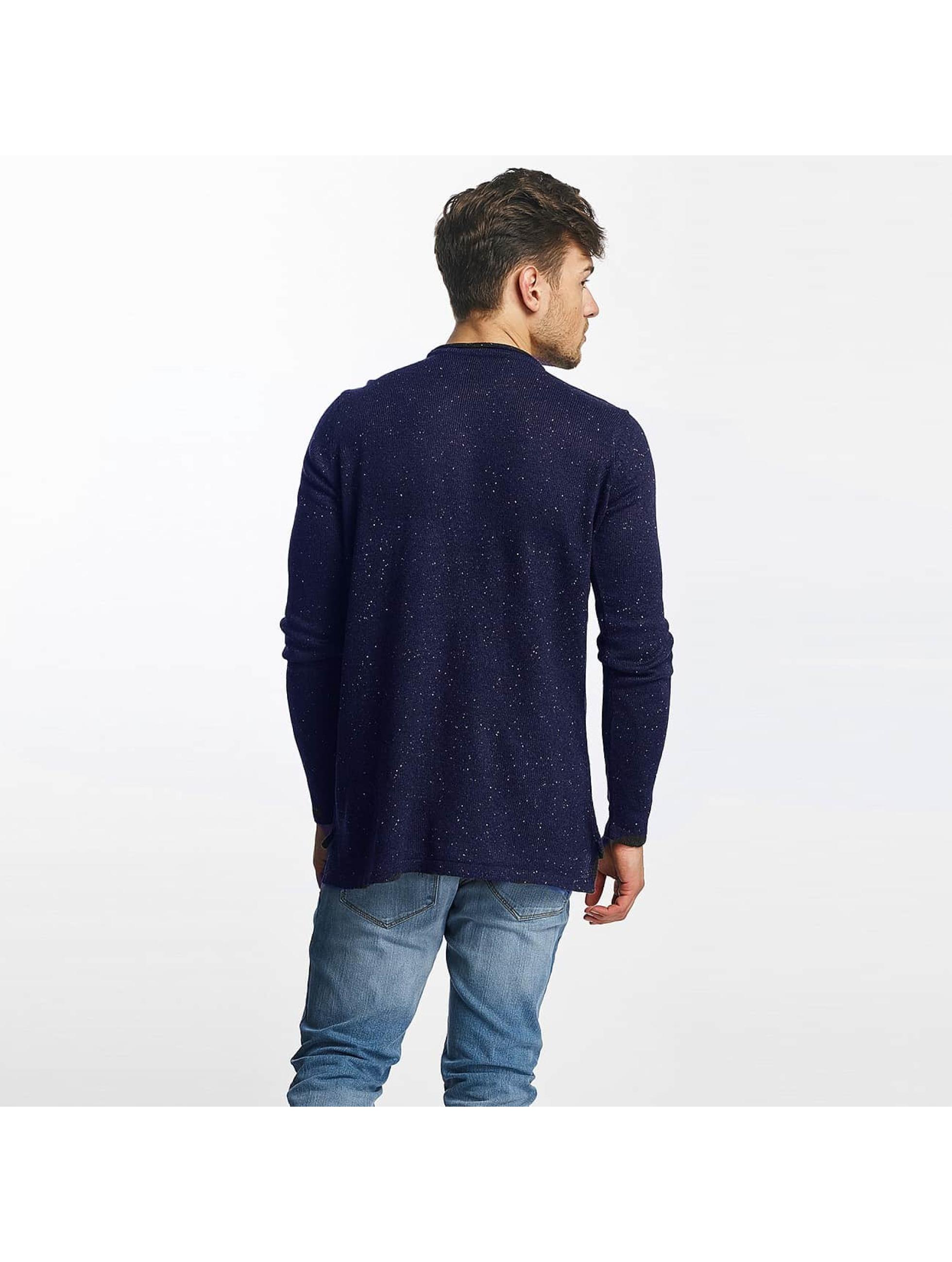 Brave Soul Pullover Lorenzo blau
