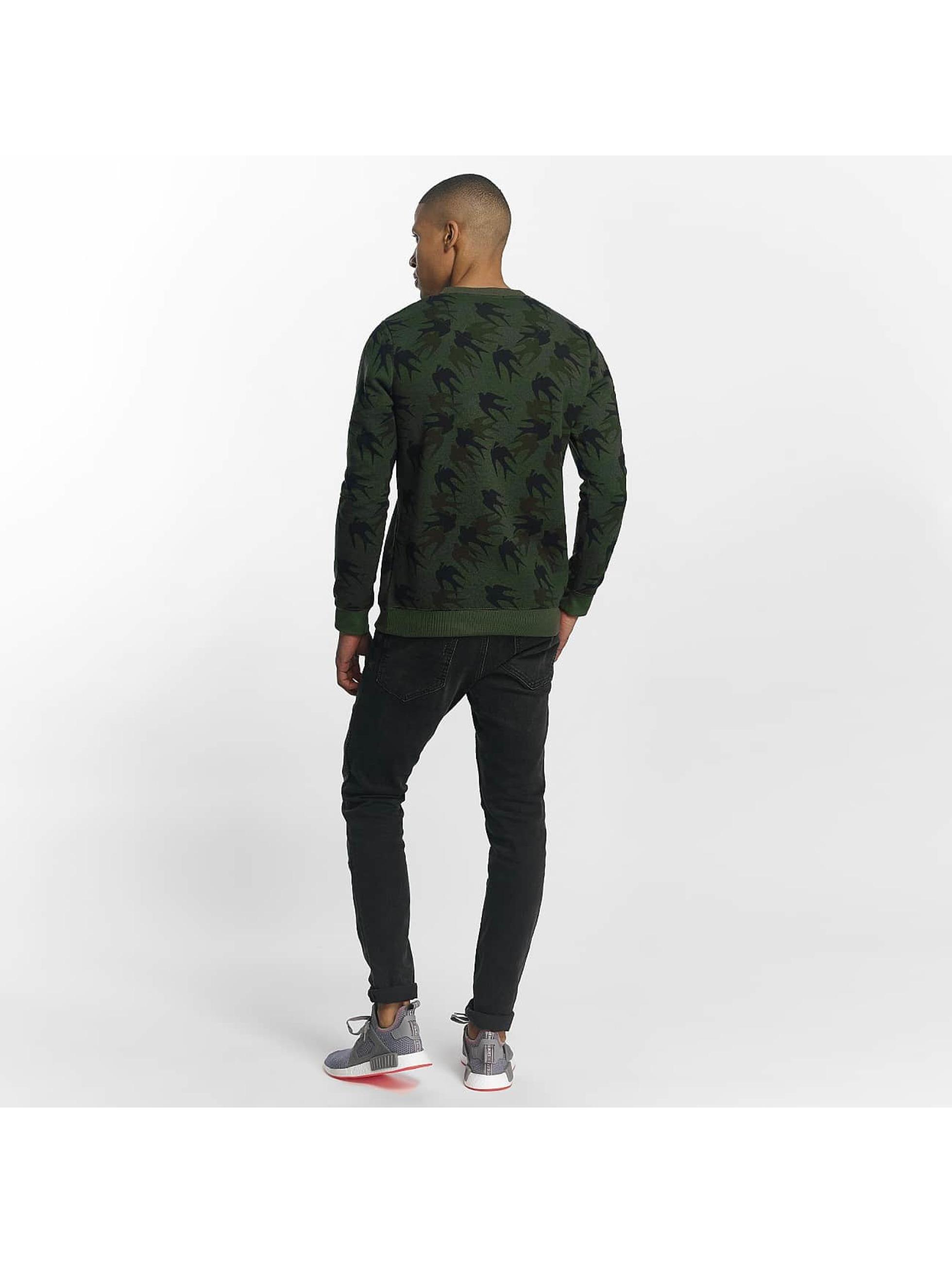 Brave Soul Pullover Sweatshirt Mid khaki