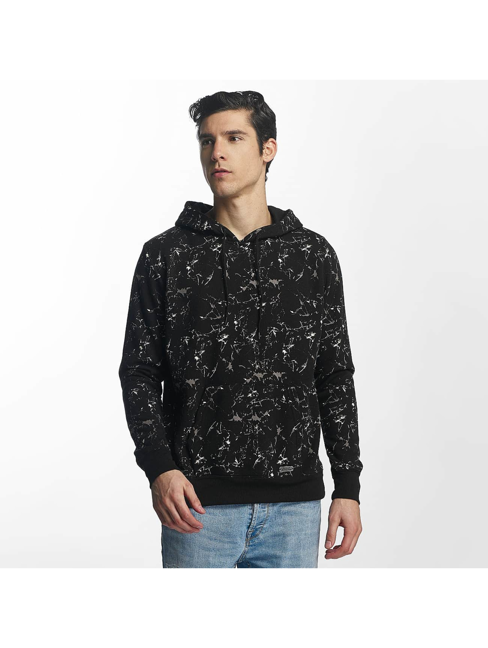 Brave Soul Pullover All Over Print schwarz