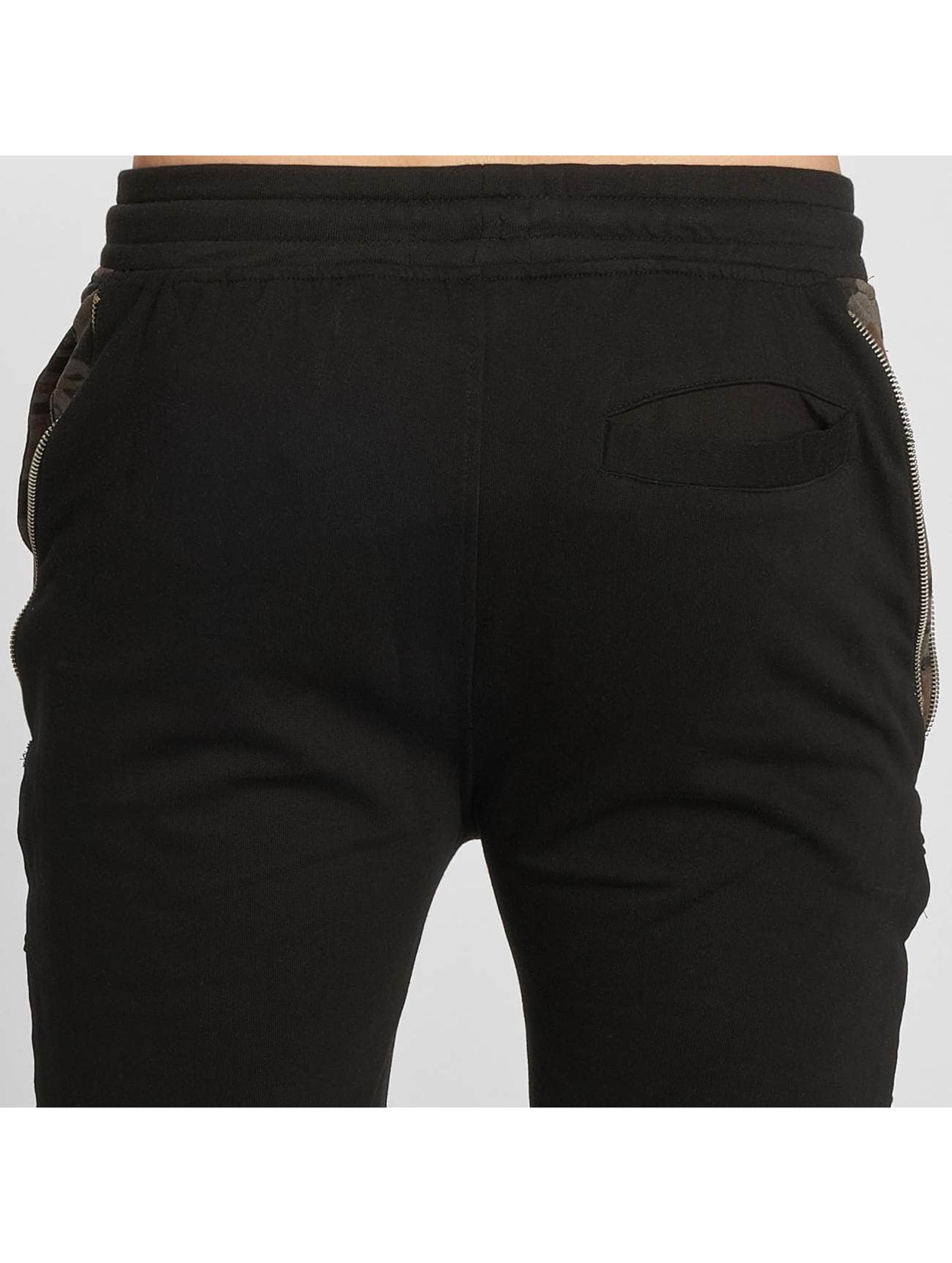 Brave Soul Shorts Bedlington schwarz
