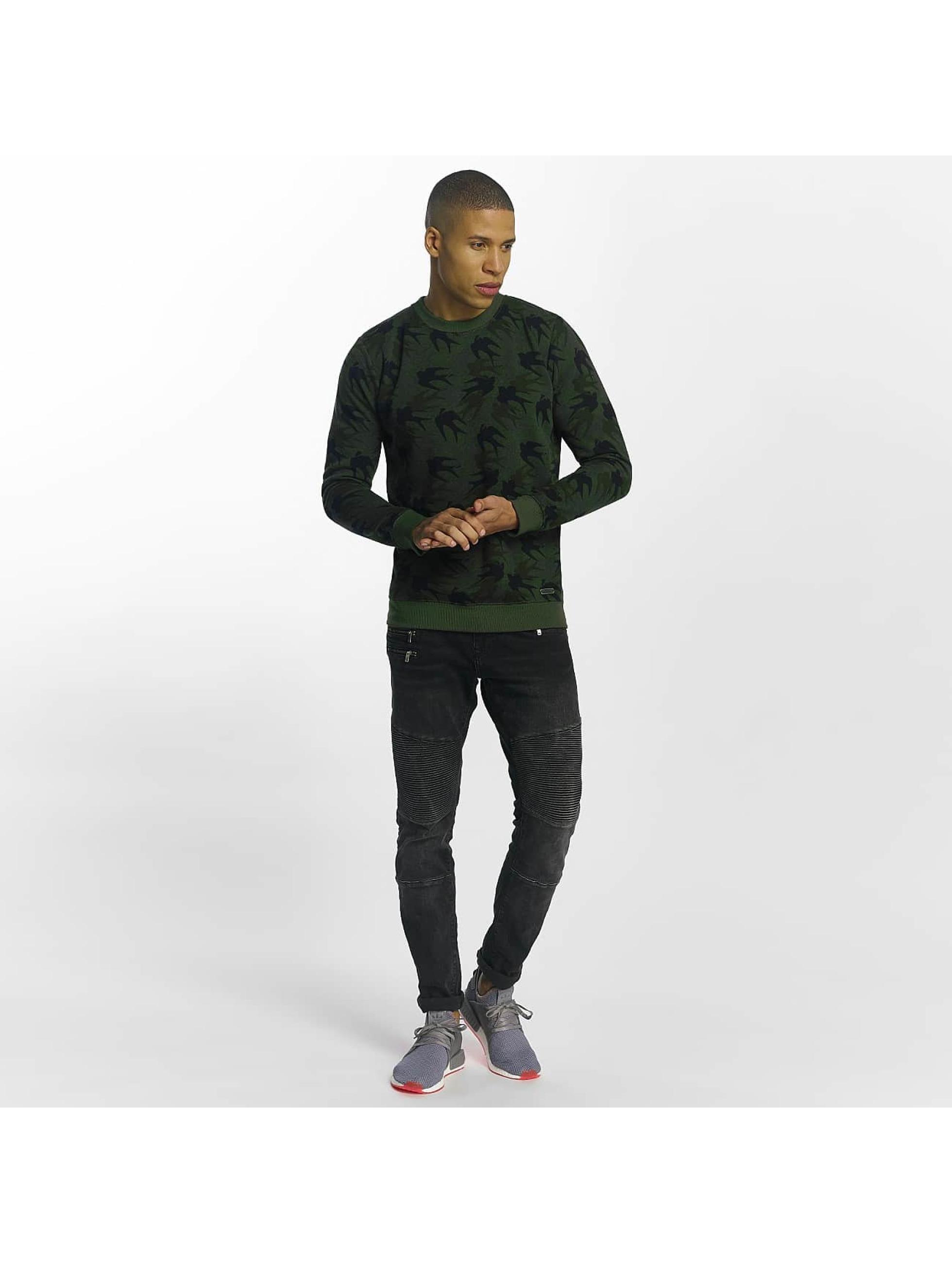 Brave Soul Sweat & Pull Sweatshirt Mid kaki