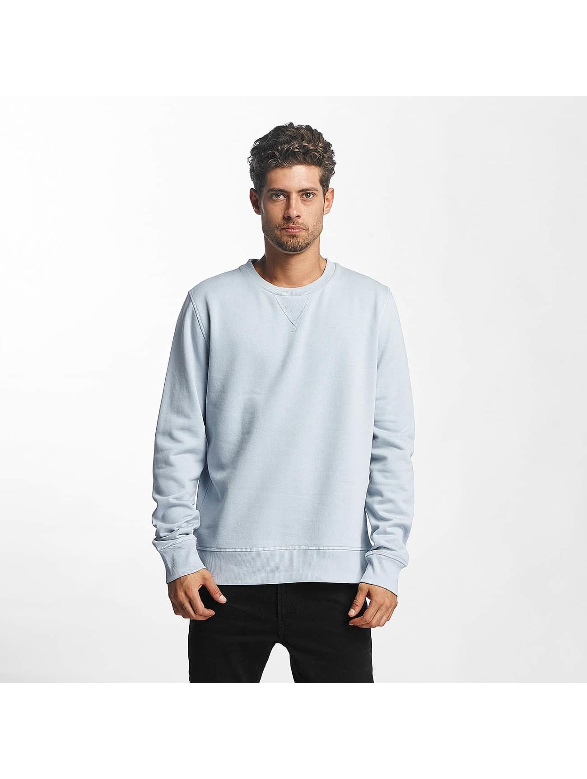Brave Soul Swetry Basic niebieski