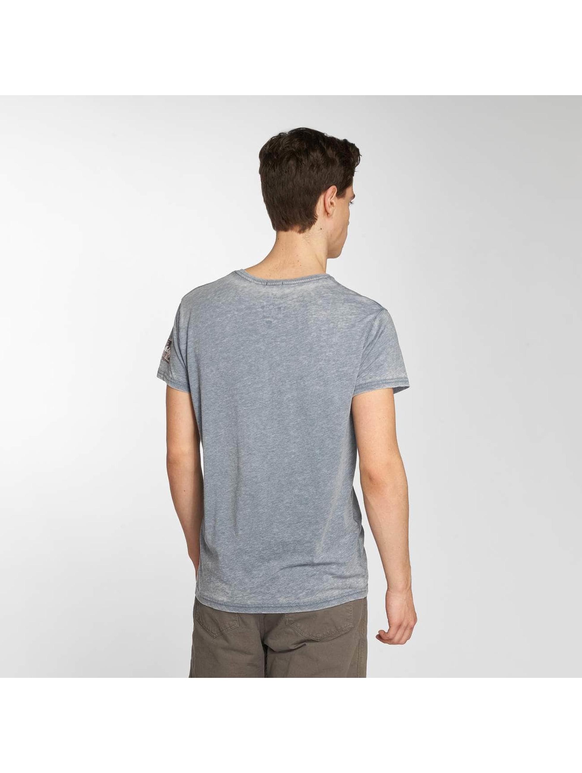 Brave Soul T-Shirt Bridge blau