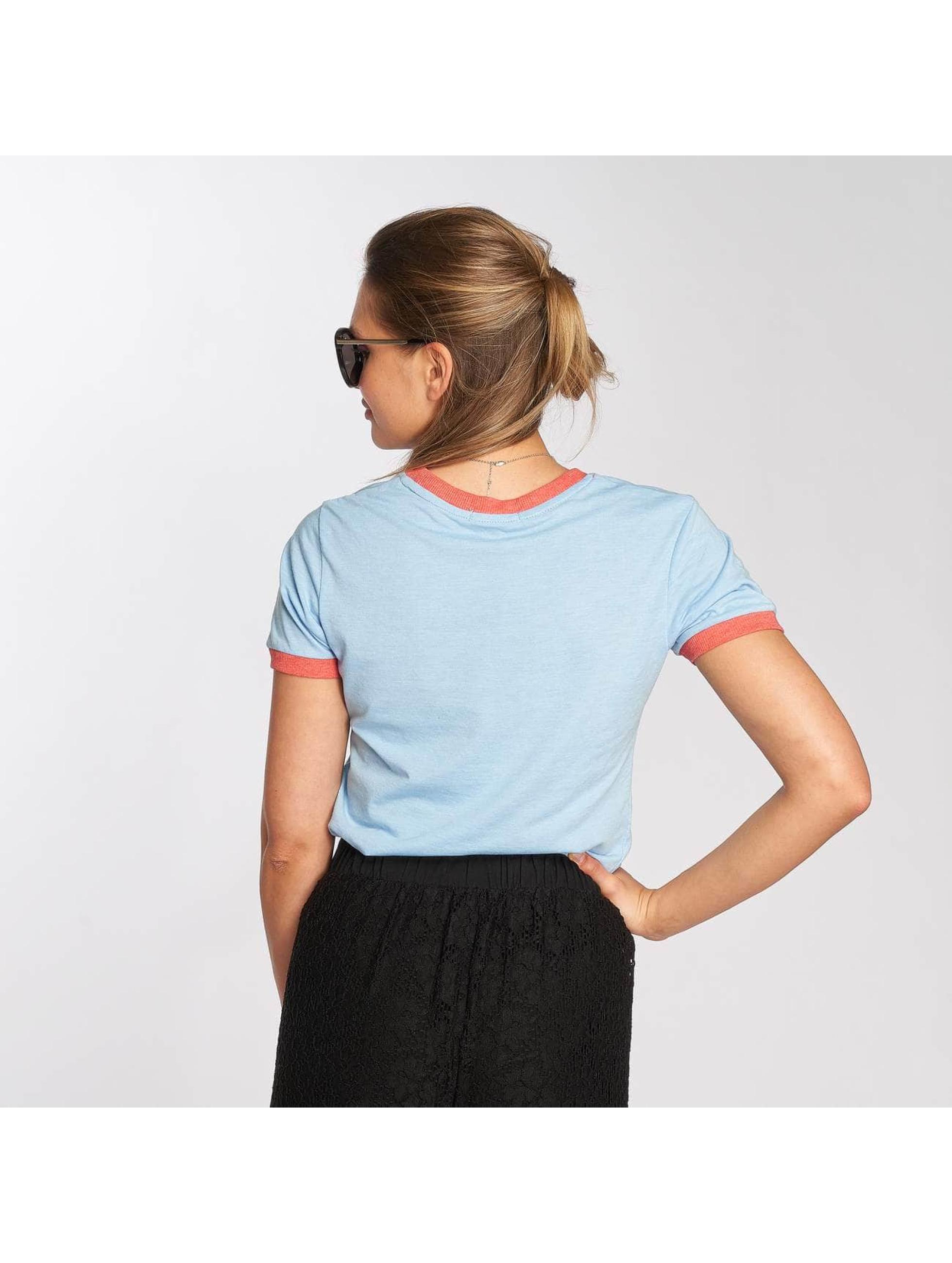 Brave Soul T-Shirt Happy blau