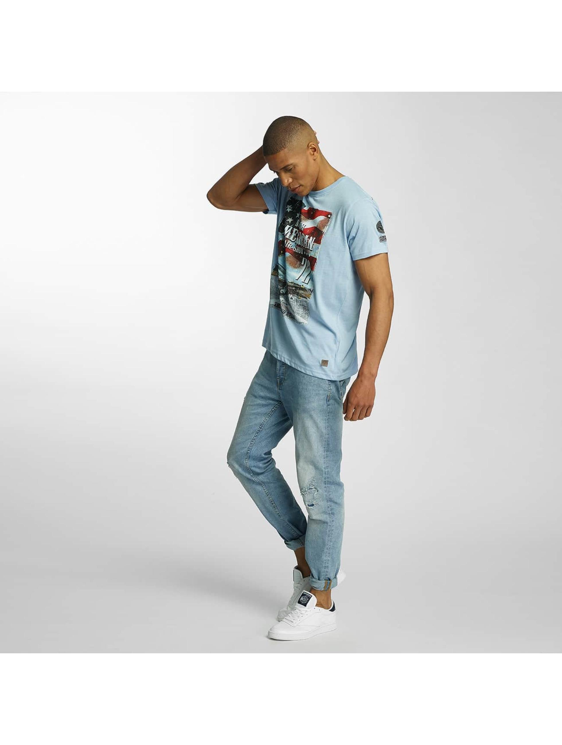 Brave Soul t-shirt Large Crew Neck blauw