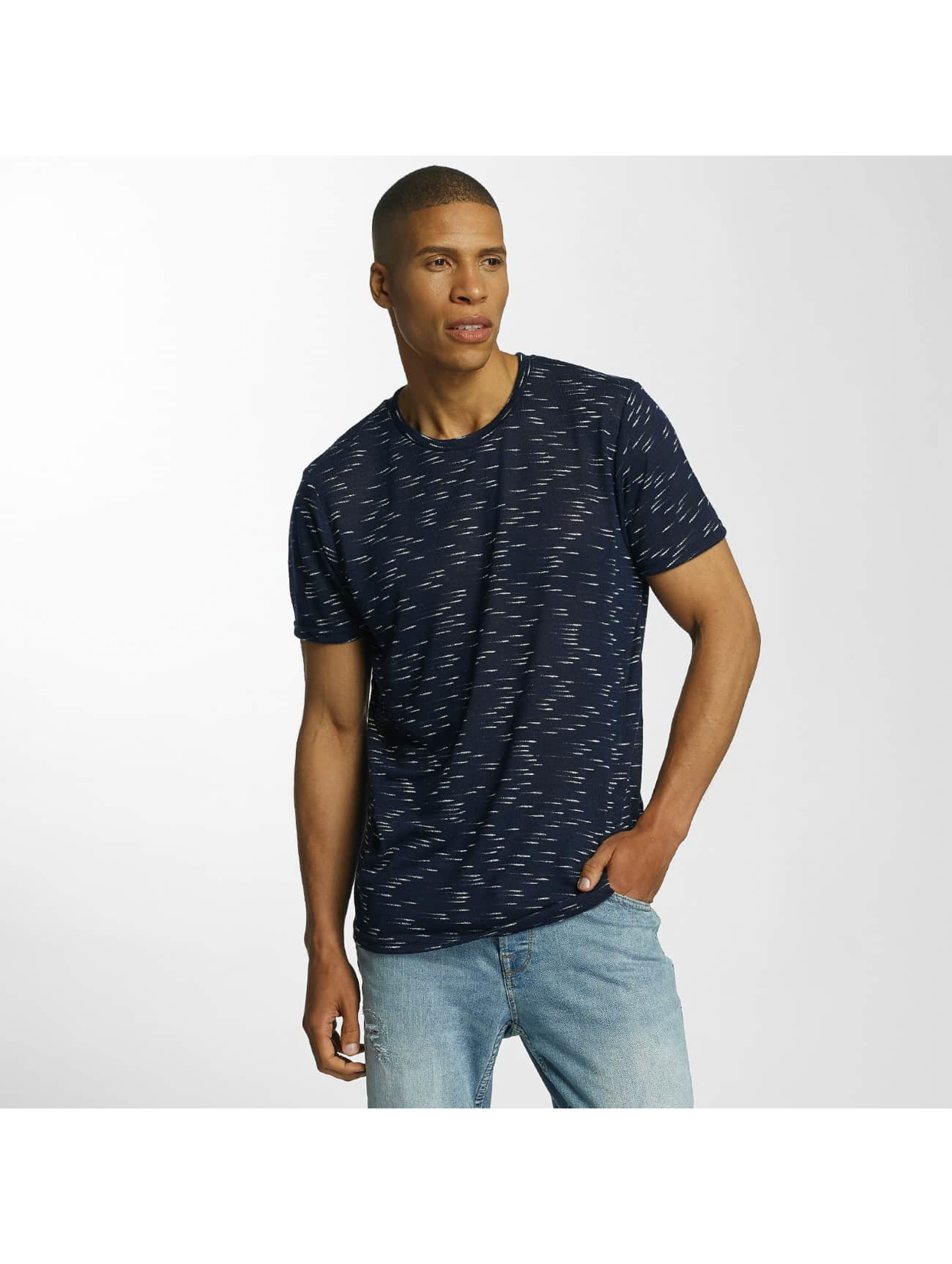 Brave Soul t-shirt All Over blauw