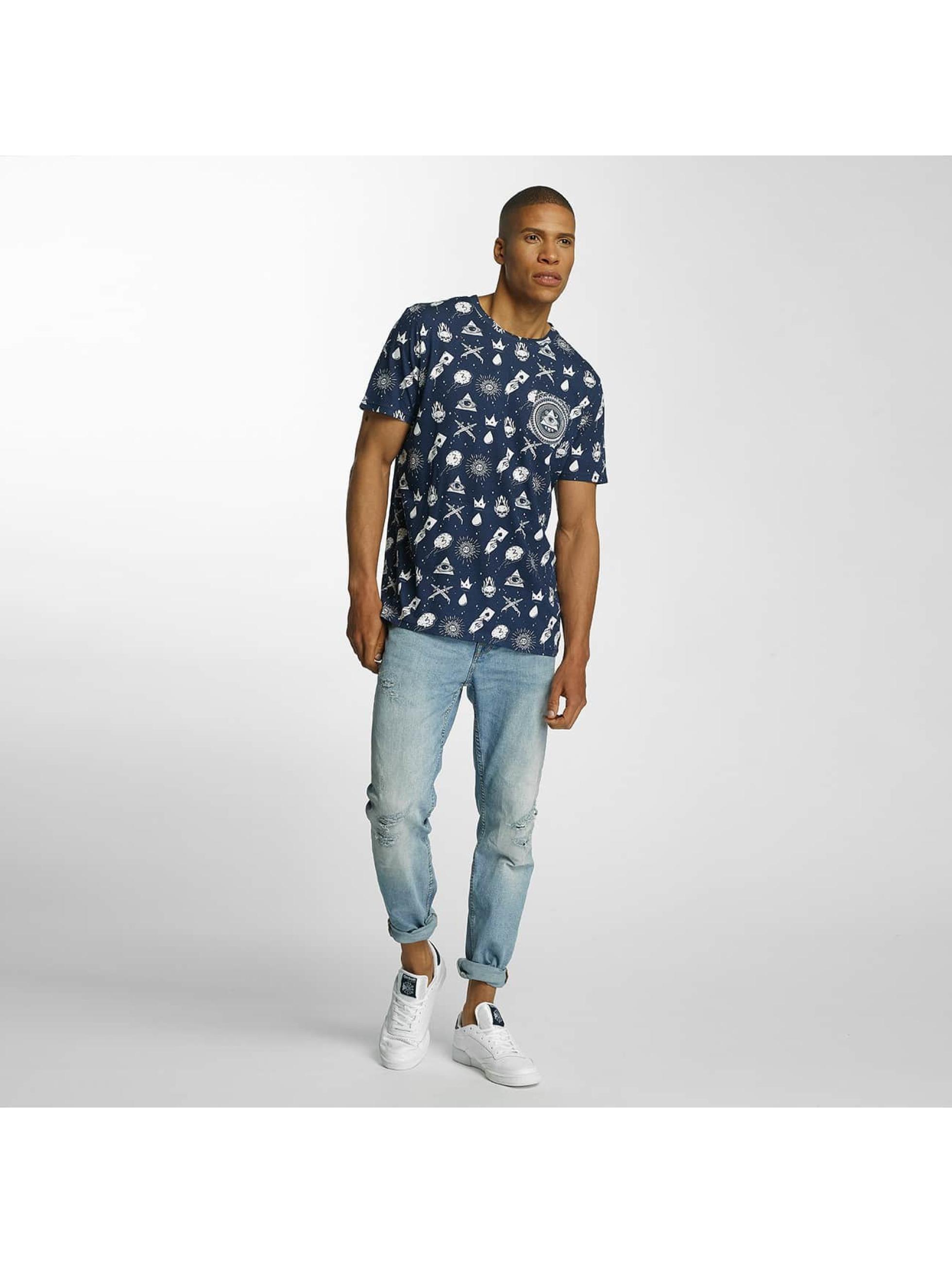 Brave Soul T-shirt All Over Print blu